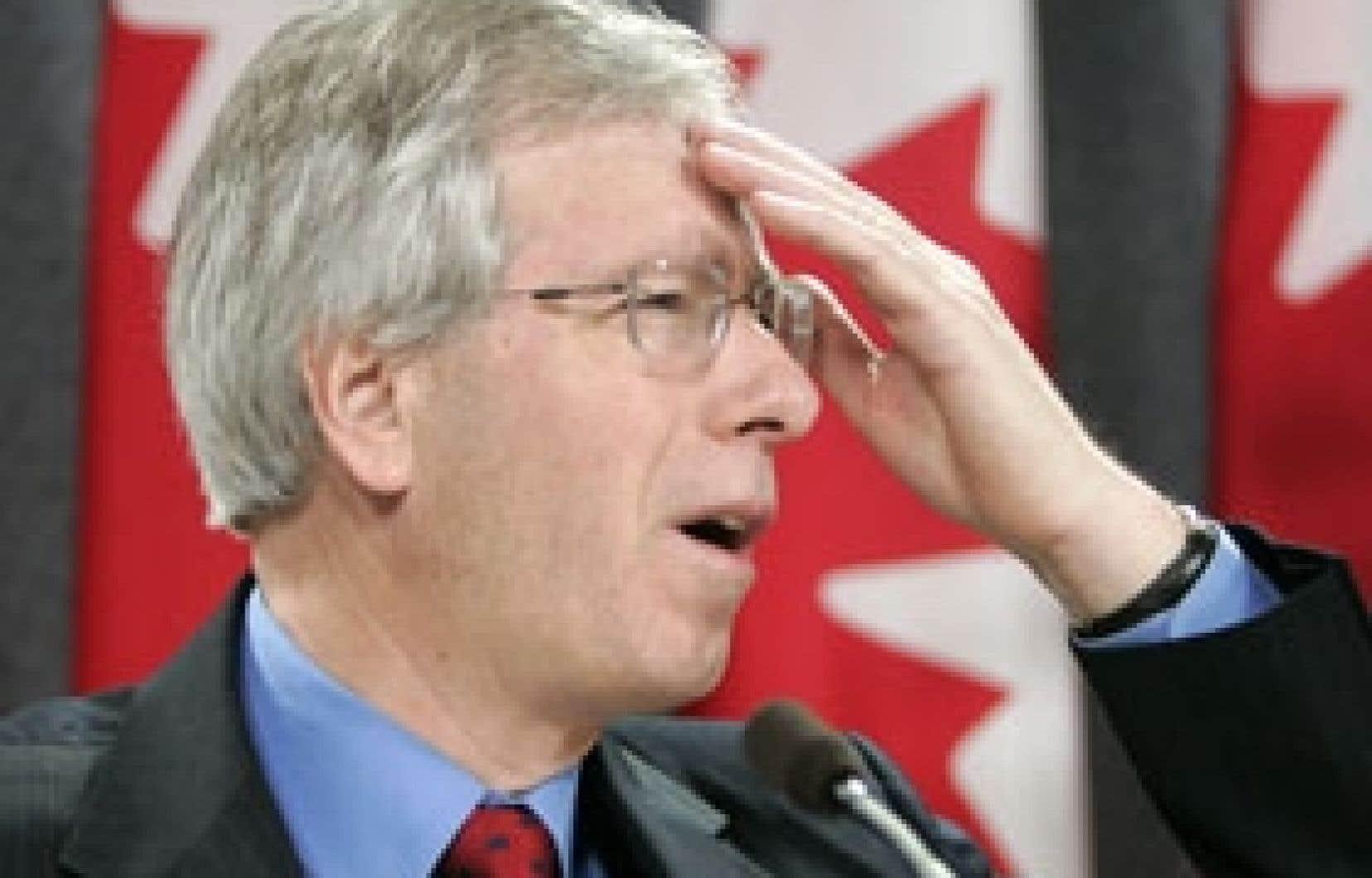 Stéphane Dion a reproché à Stephen Harper de n'avoir ni défini ni chiffré le déséquilibre fiscal.