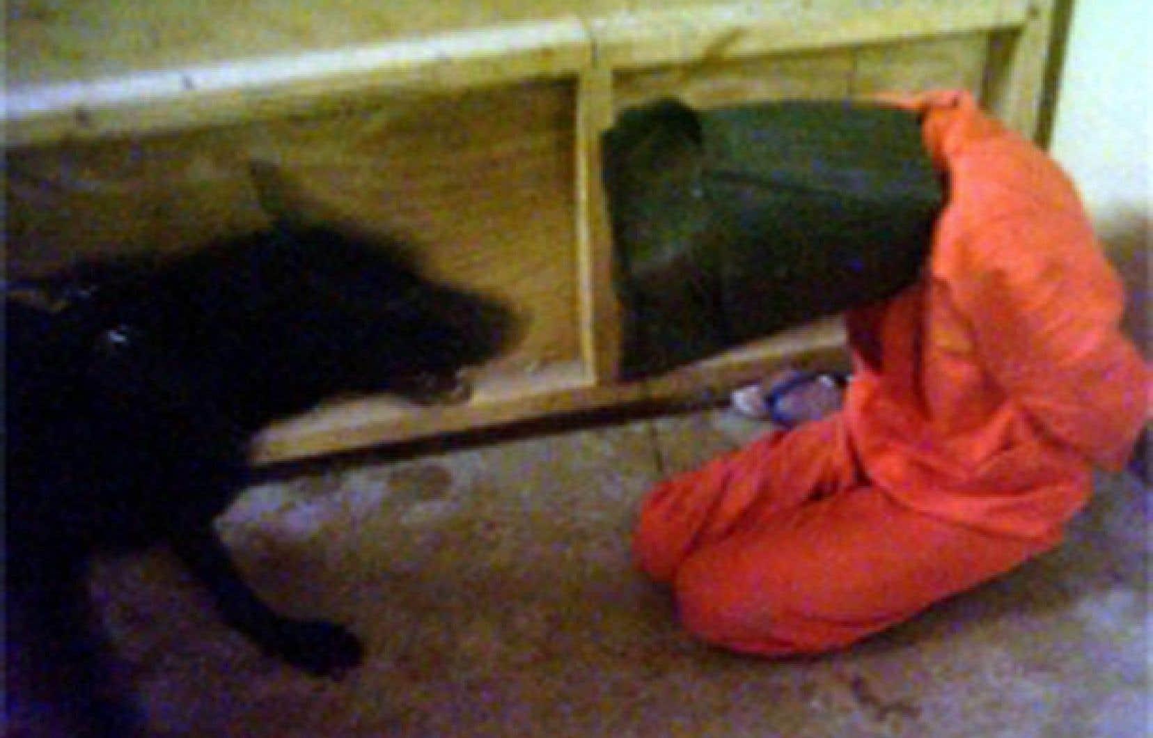 La torture a fait la réputation de la prison d'Abou Ghraib, à Bagdad.