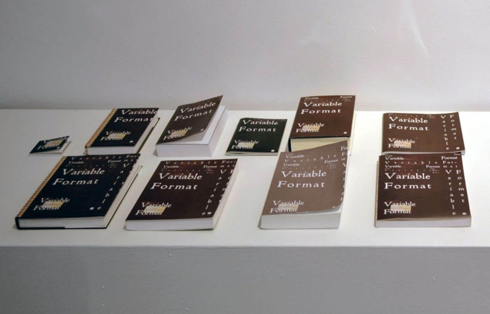 ND Publishing et Åbäke, détail de Variable Format, 2012.