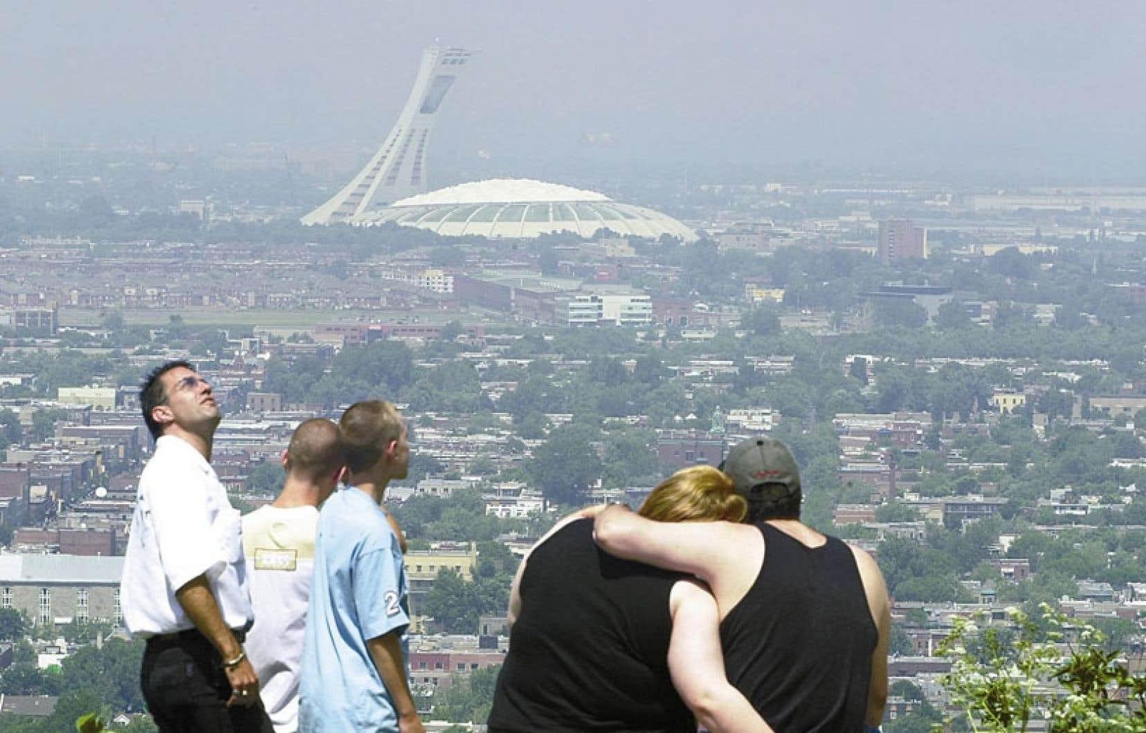 En 2012, on a dénombré 49 jours de mauvaise qualité de l'air alors que la moyenne des quatre années précédentes était de 67 jours.
