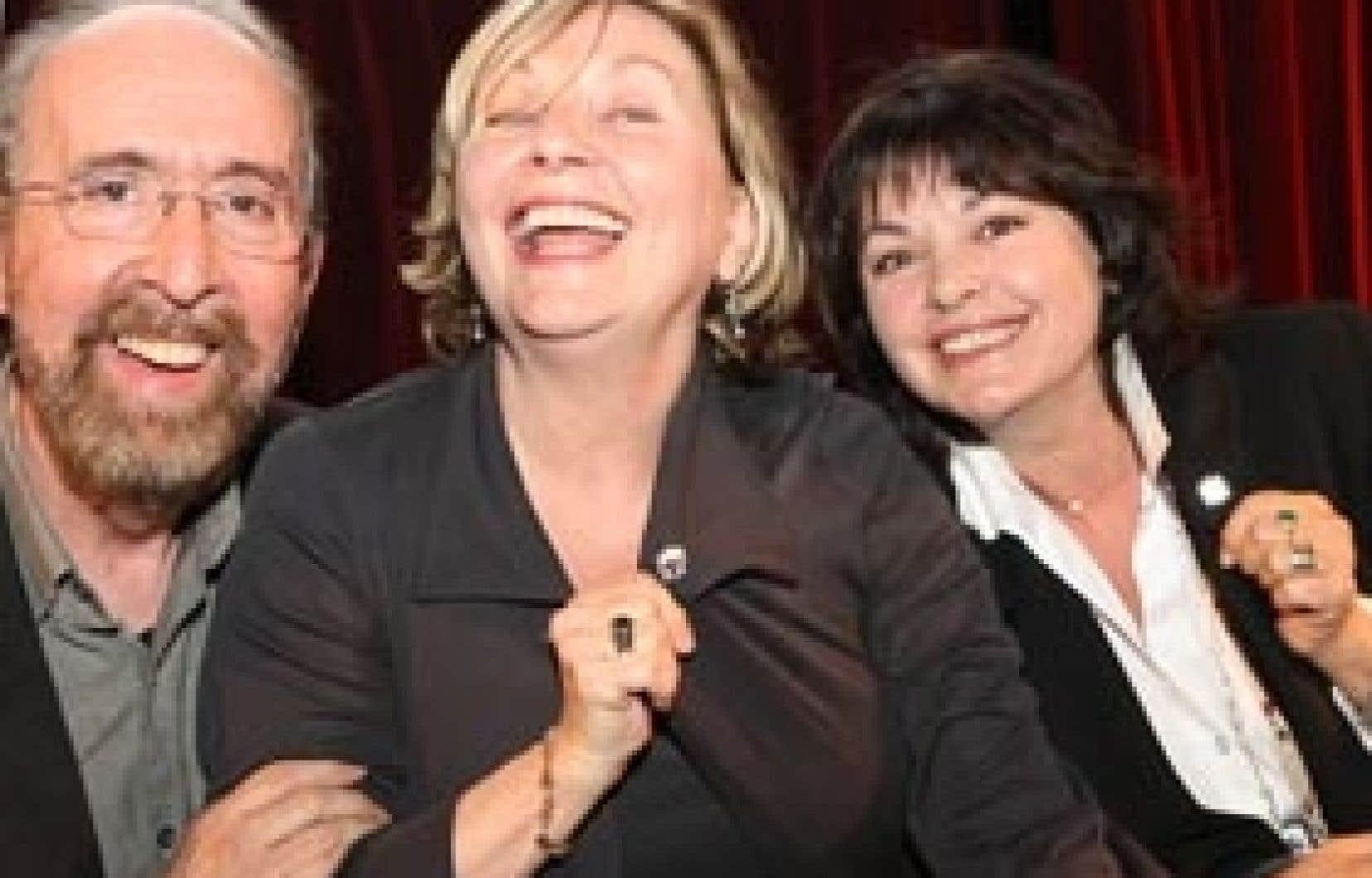 La campagne d'hier est portée par plusieurs personnalités publiques telles Gérard Larose, France Castel (qui agit comme porte-parole nationale) et Louise Portal.