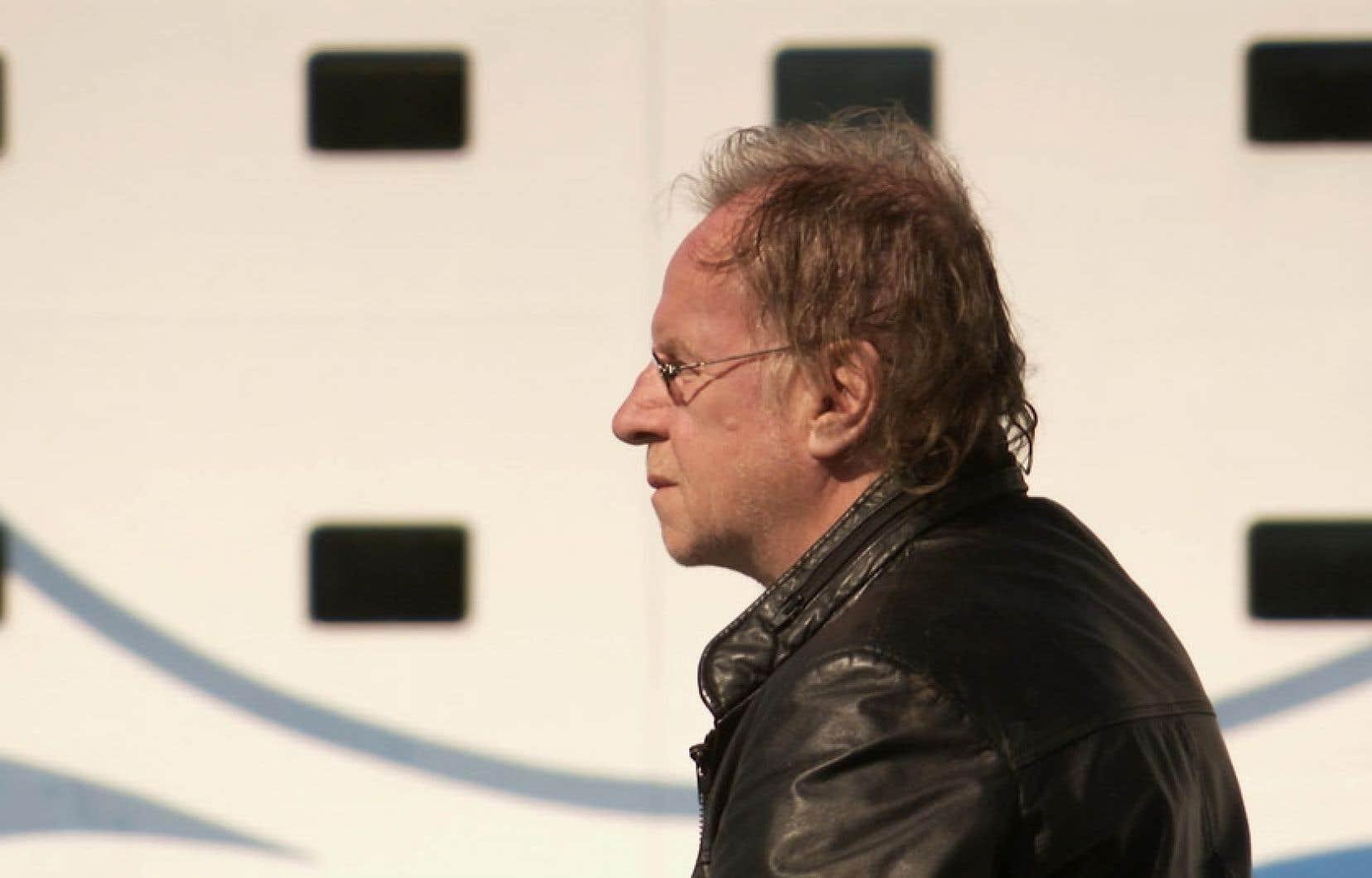 Le cinéaste Pierre Goupil