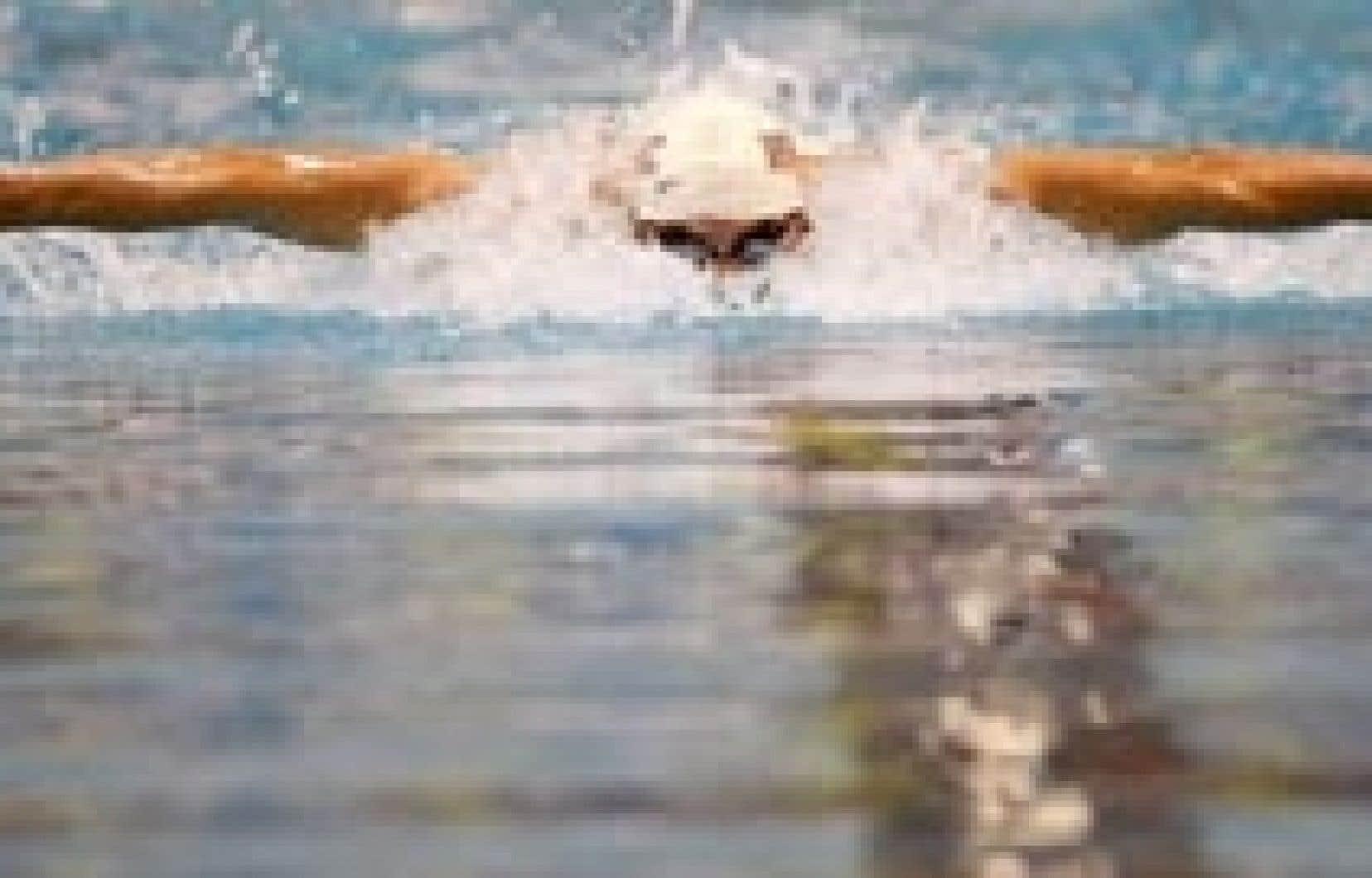 Michael Phelps, octuple médaillé d'or des Jeux olympiques à Pékin