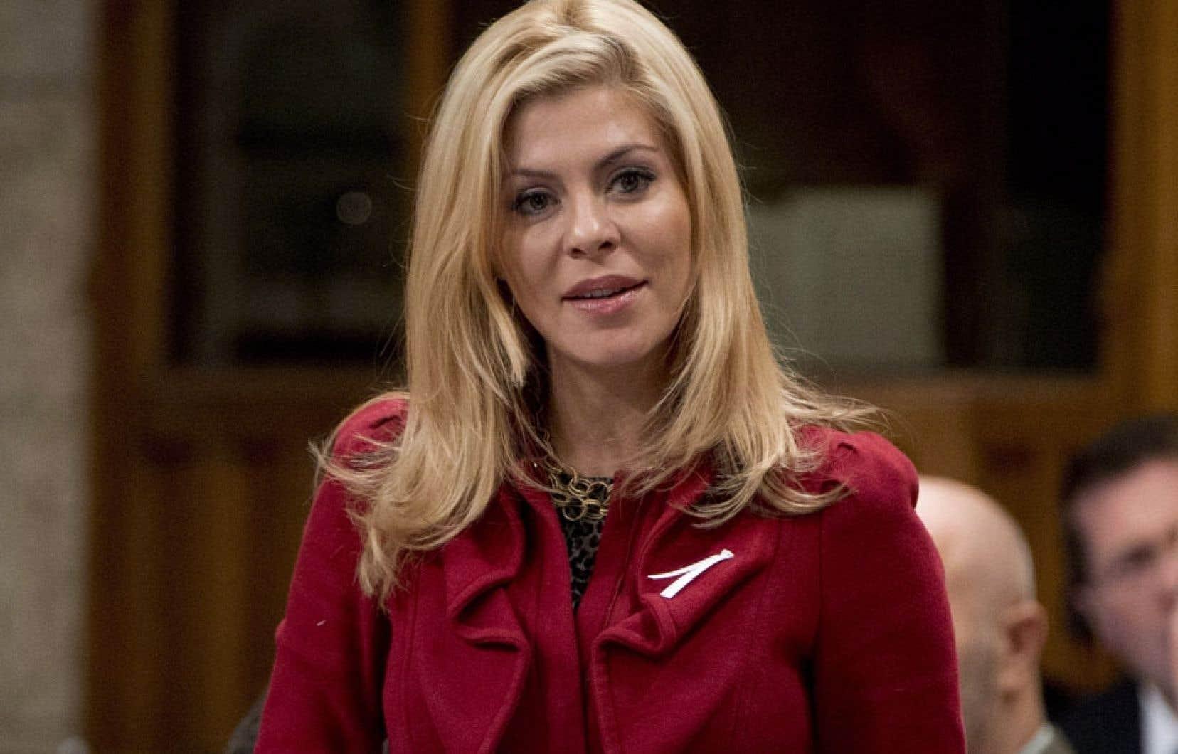 La députée et conjointe de Dimitri Soudas fait l'objet d'une enquête au sein du PC.