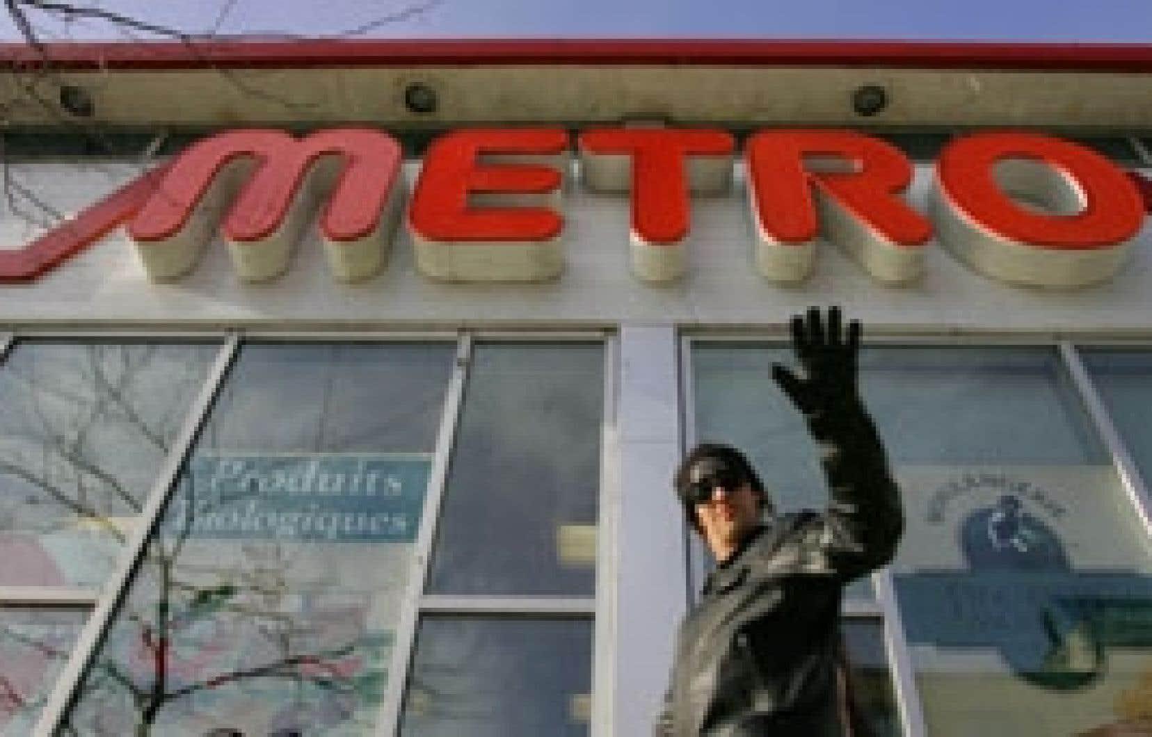 Metro a haussé son profit de 33 % par rapport à l'an dernier.