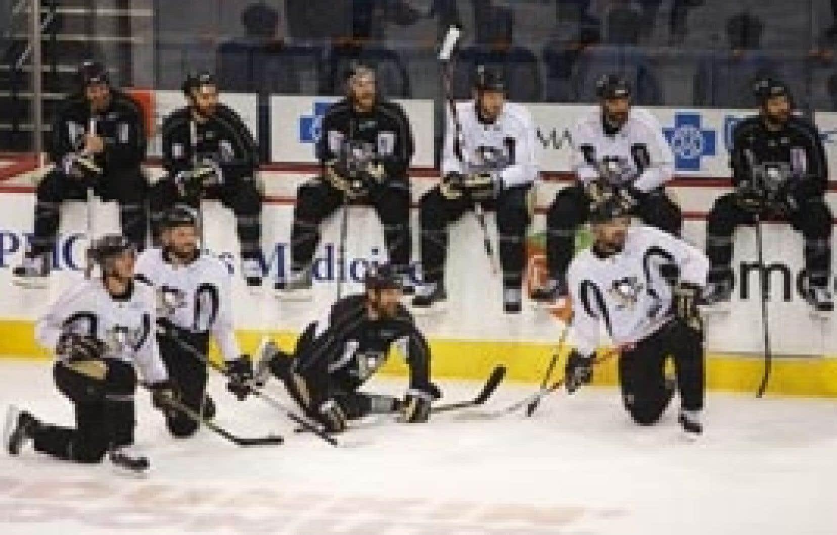 Plusieurs joueurs faisant partie de la formation actuelle des Penguins étaient exactement dans la même position l'an dernier.