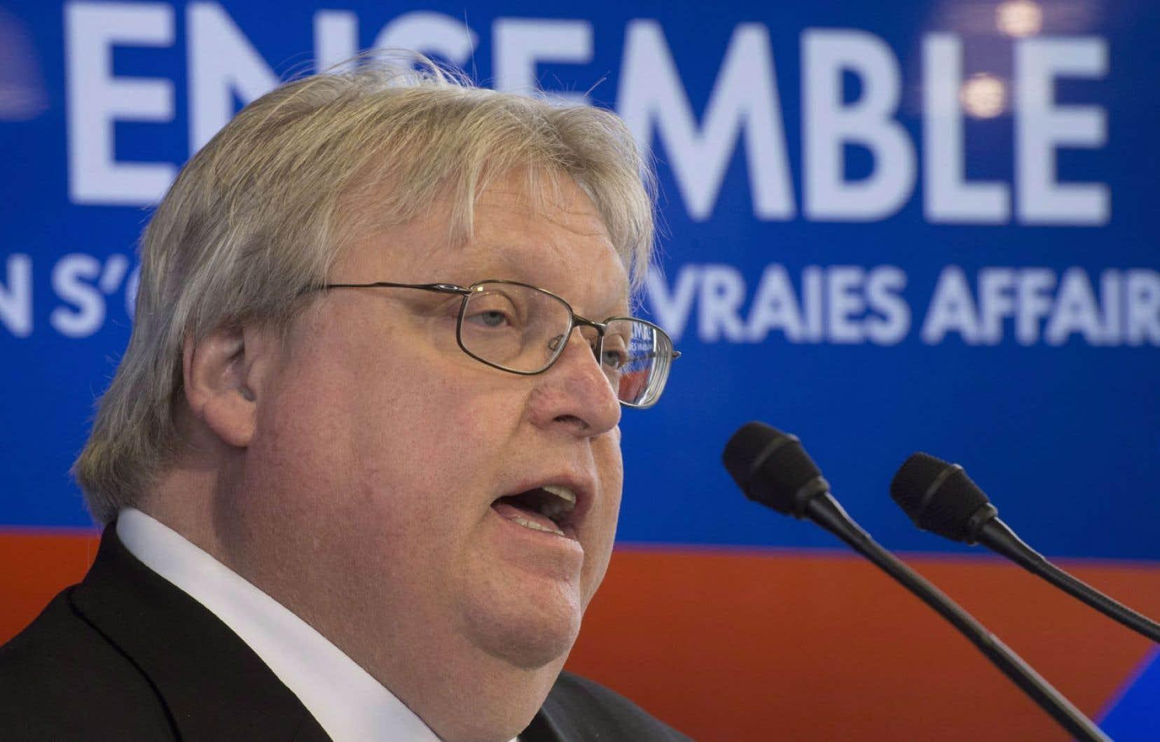 Gaétan Barrette a été élu dans La Pinière, devant la candidate sortante Fatima Houda-Pepin, devenue indépendante.