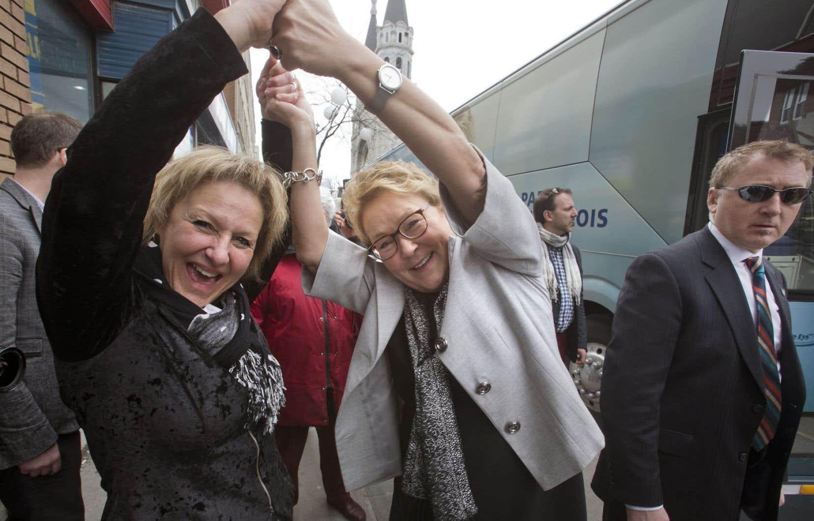 Kathleen Weil, Maryse Gaudreault et Christine St-Pierre pourraient toutes se voir confier un ministère. Mais Philippe Couillard ne promet pas la parité au Conseil des ministres.