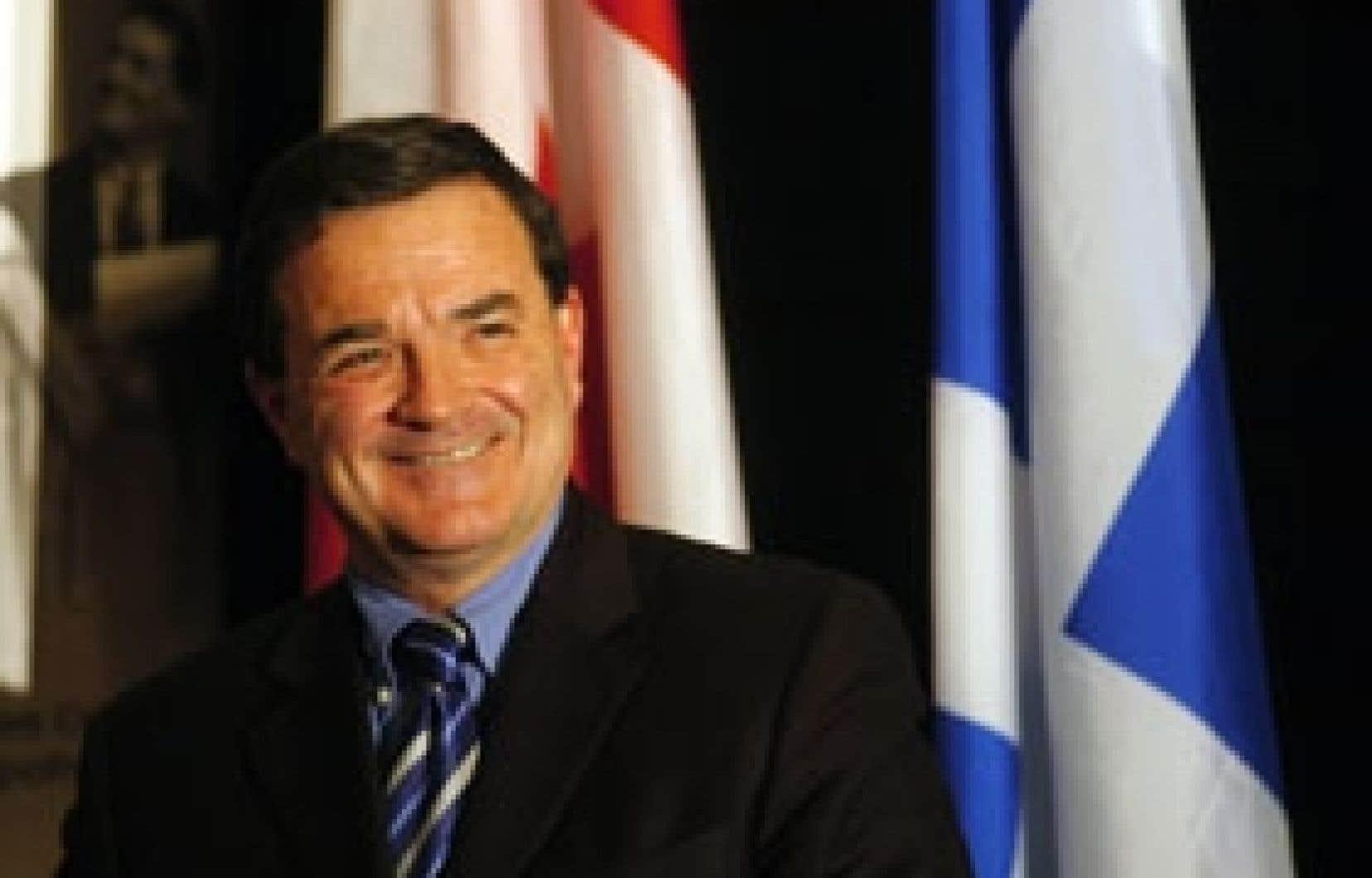 Le ministre fédéral des Finances, Jim Flaherty, a prononcé un discours hier à Montréal, devant l'Institut canadien des courtiers et des prêteurs hypothécaires.