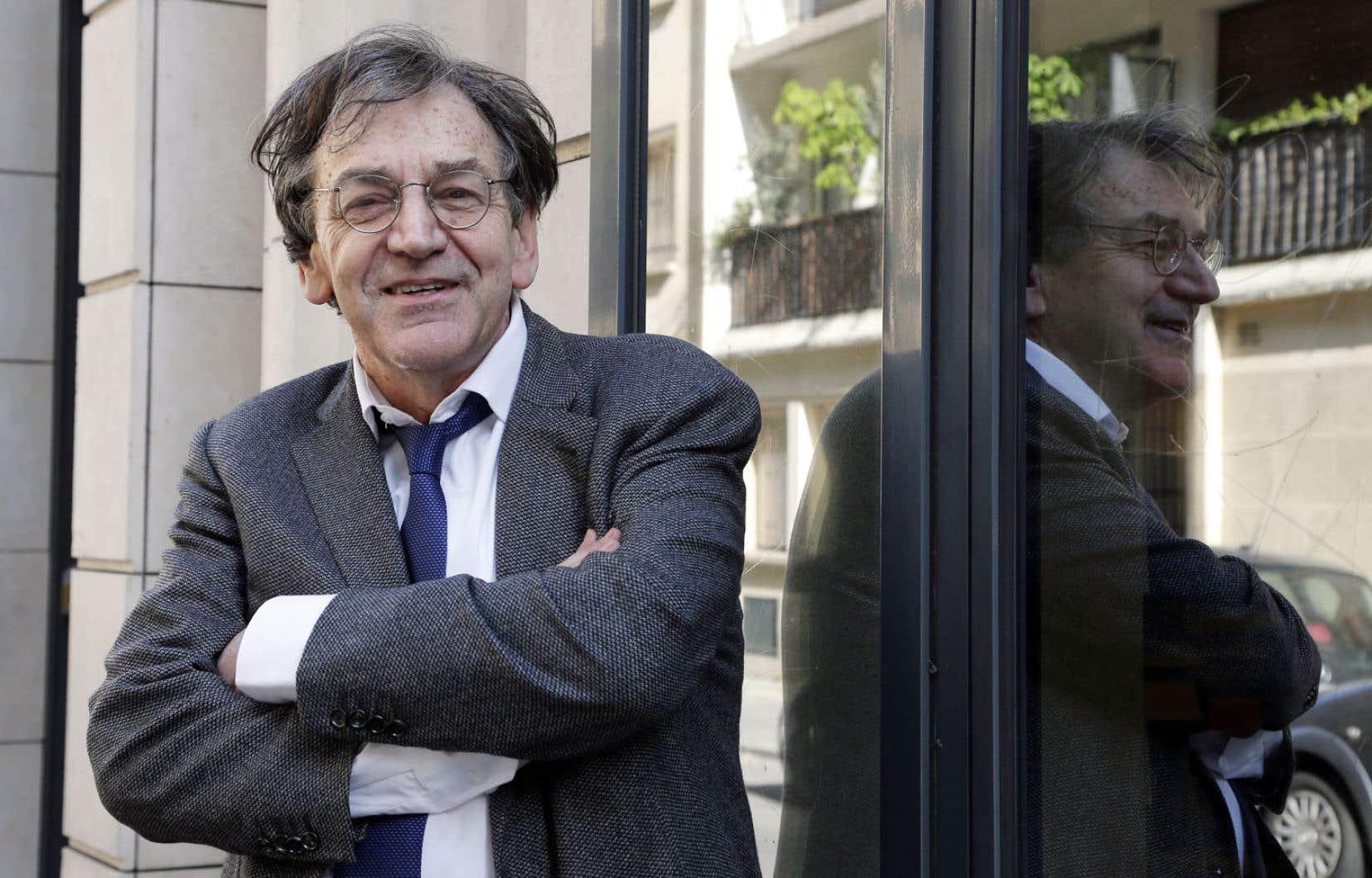 Le philosophe Alain Finkielkraut a récolté 16 voix sur 28 au premier tour. Il occupera le fauteuil de Félicien Marceau.
