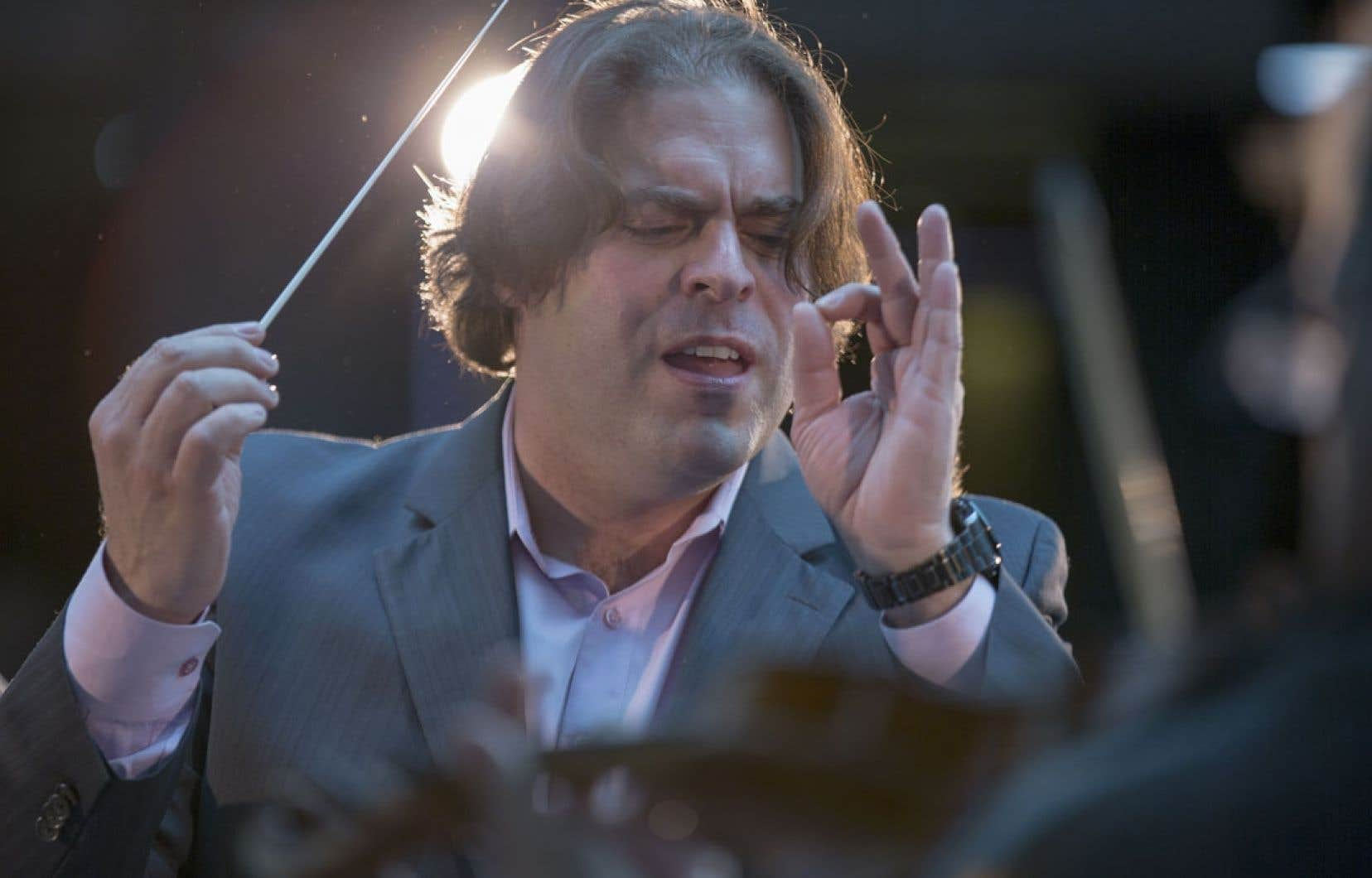 Jean-Marie Zeitouni, directeur artistique de l'Orchestre de chambre I Musici de Montréal