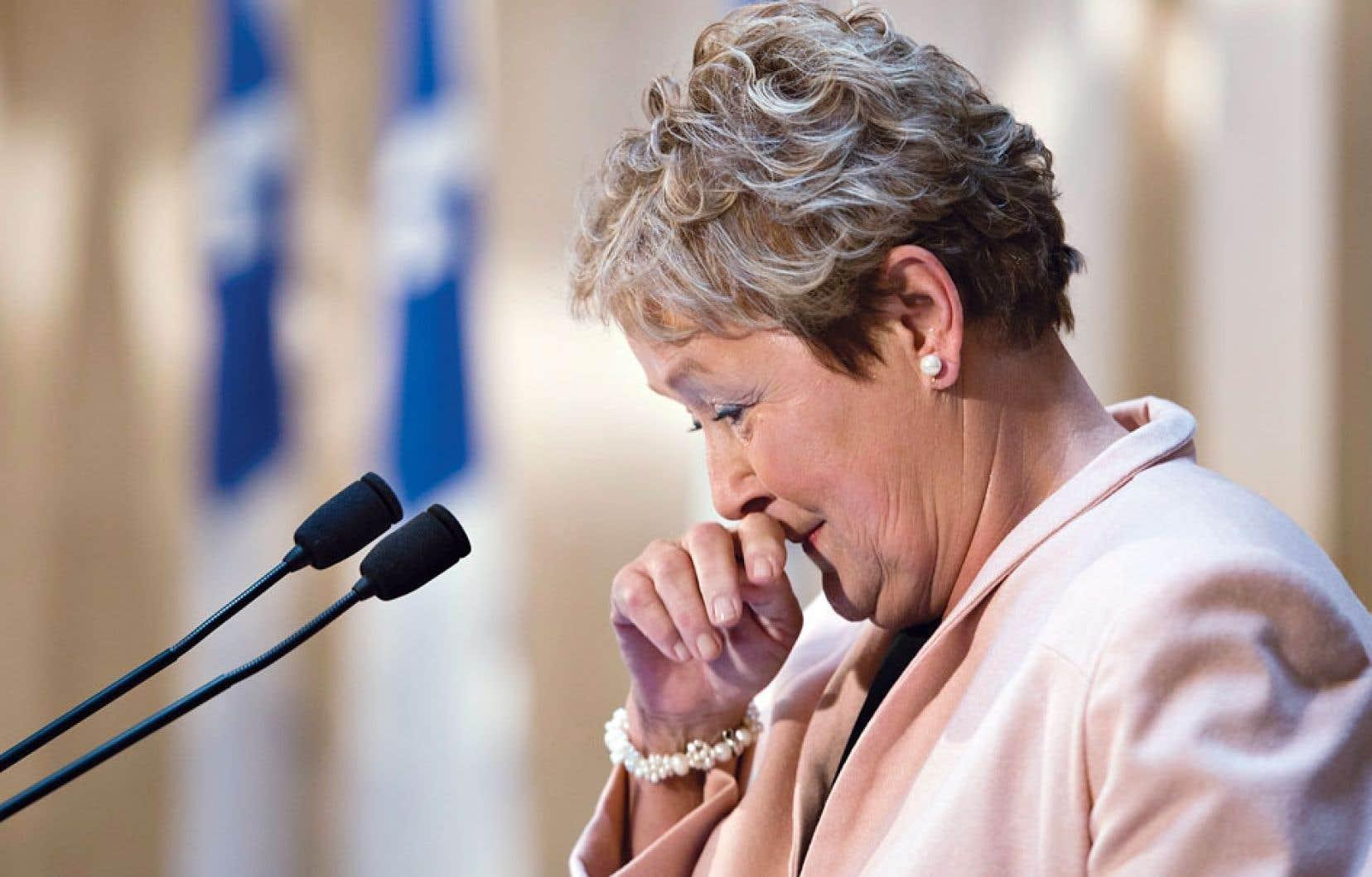 Pauline Marois a tiré un trait définitif sur trois décennies de vie politique.