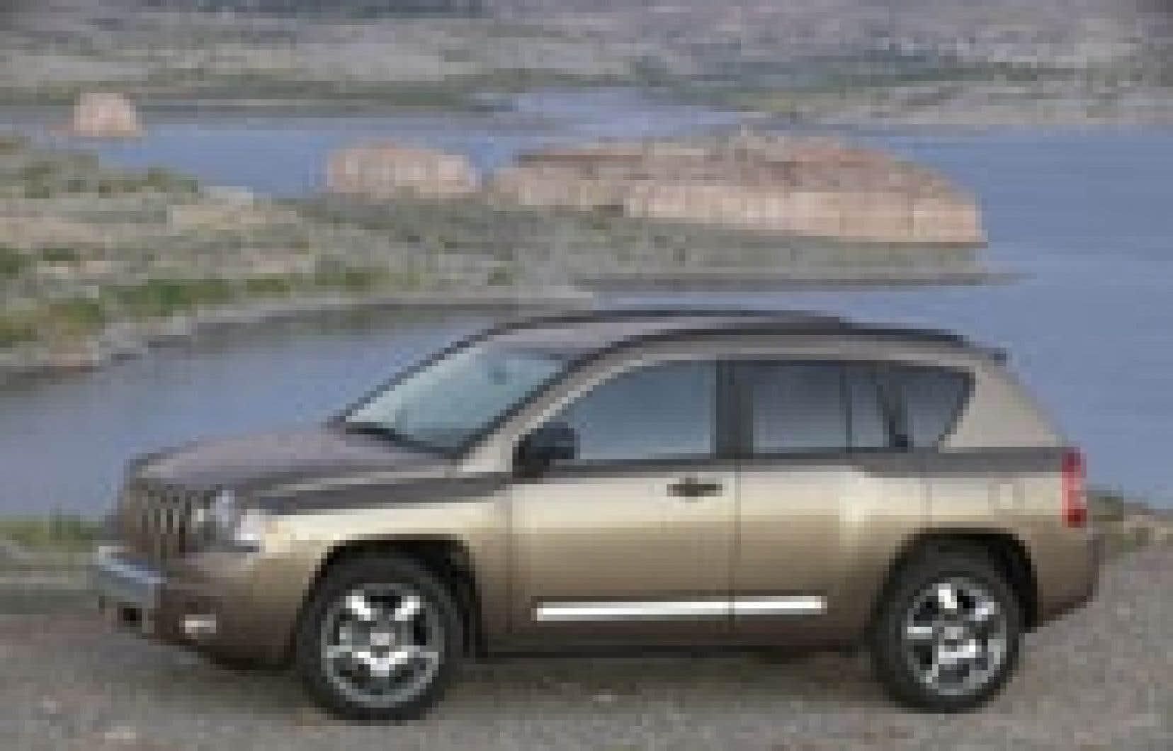 Jeep a conçu le Compass, un véhicule qui cible spécifiquement un immense segment de la population qui lui échappait jusque-là: les femmes.