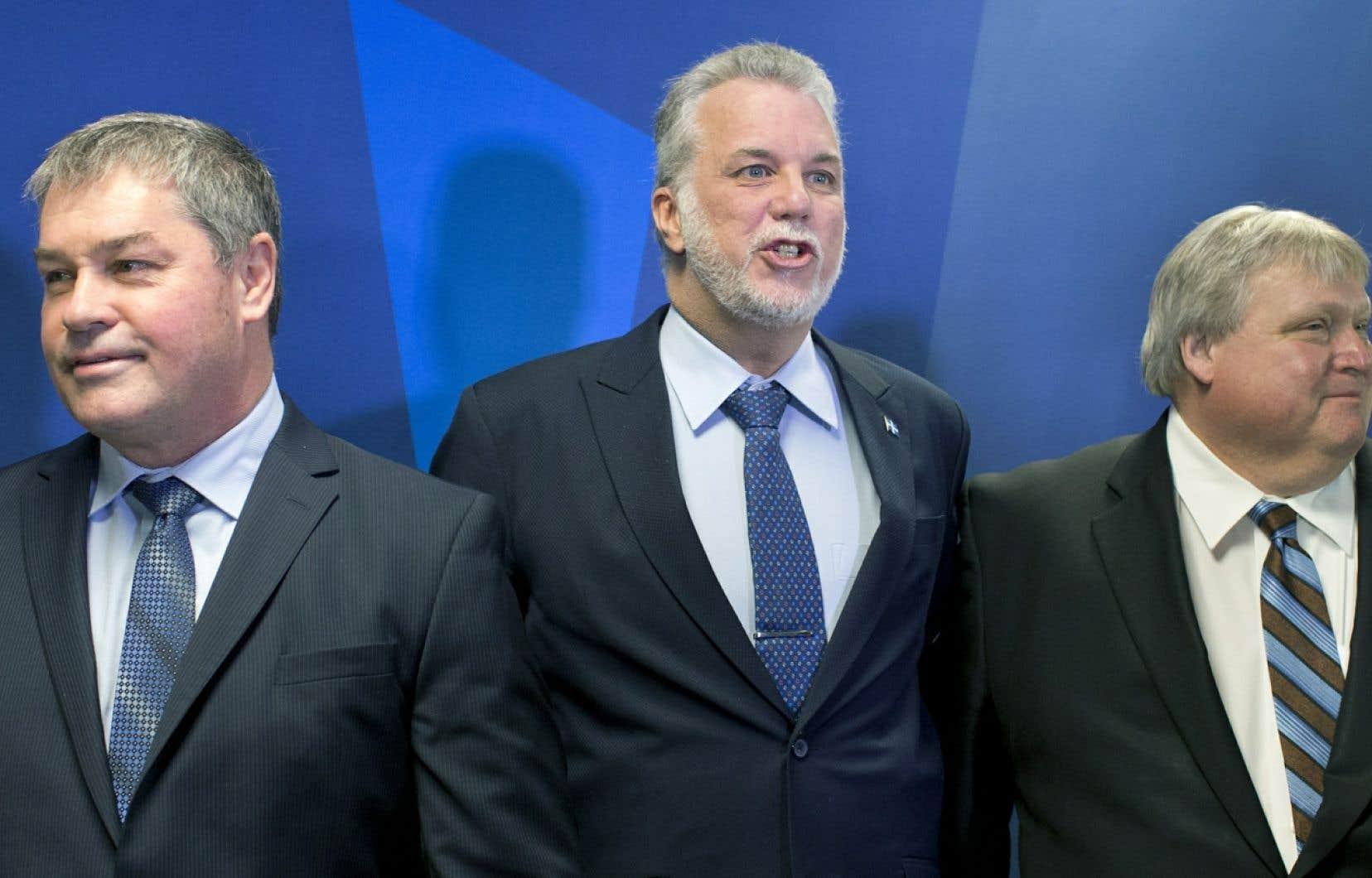 À eux seuls, le nouveau ministre de la Santé et des Services sociaux, le Dr Gaétan Barrette, et celui de l'Éducation, le Dr Yves Bolduc, auront entre leurs mains pas moins de 75% du budget du Québec.