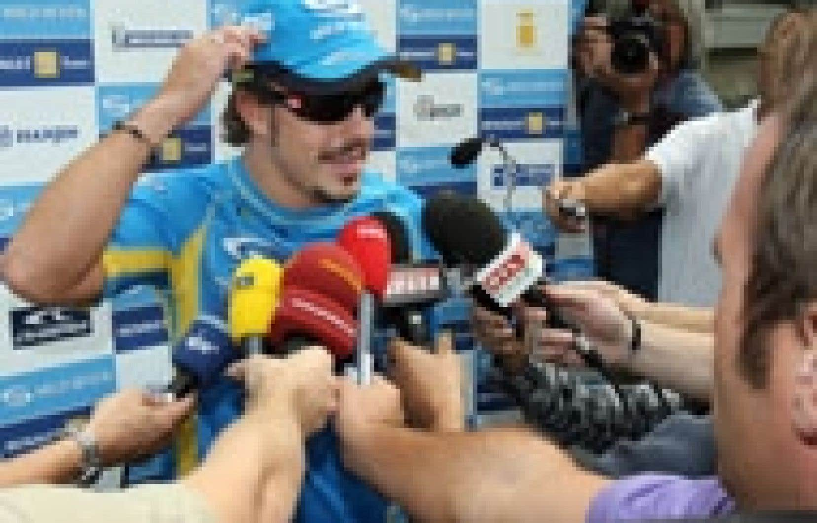 «C'est comme le début d'un mini-championnat sur trois courses», a déclaré Alonso.