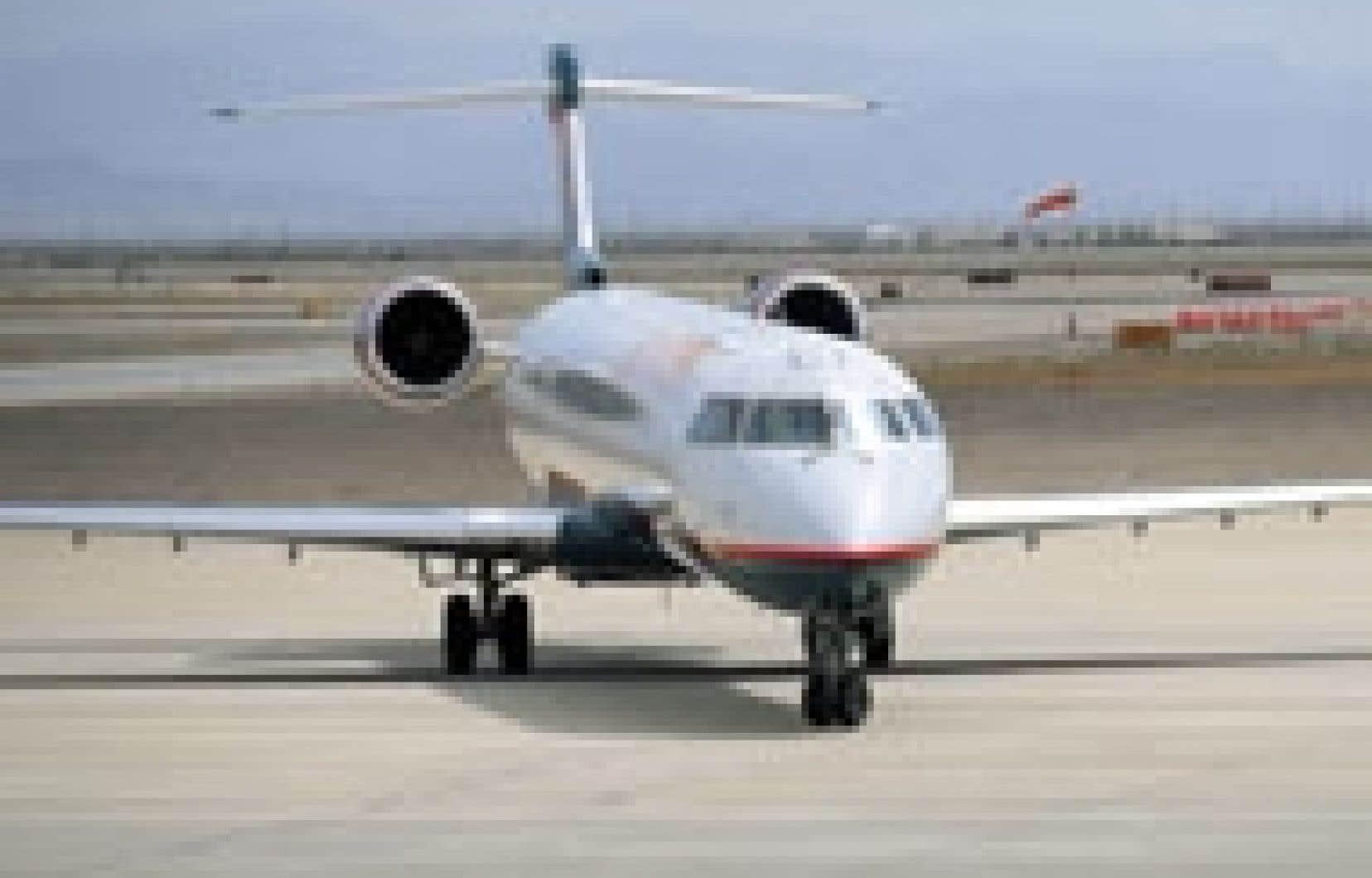 Cette commande de 19 CRJ900 de My Way Airlines pourrait apporter un peu de baume à Bombardier Aéronautique dont les revenus sont passés de 1,96 milliard $US au deuxième trimestre de l'exercice précédent à 1,89 milliard $US cette année. - Bombar