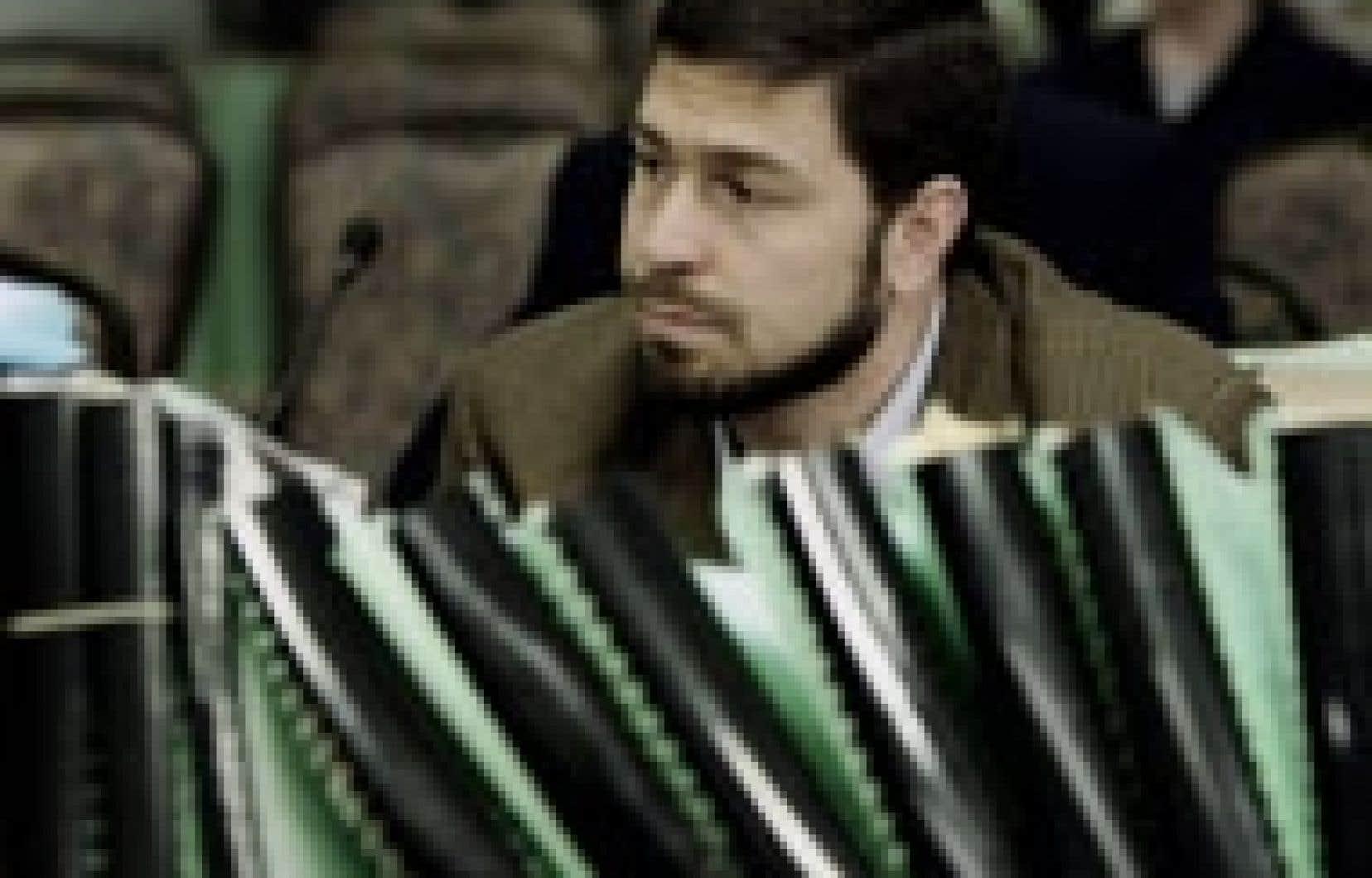 Maher Arar lors des audiences de la commission présidée par le juge Dennis O'Connor, en mai.