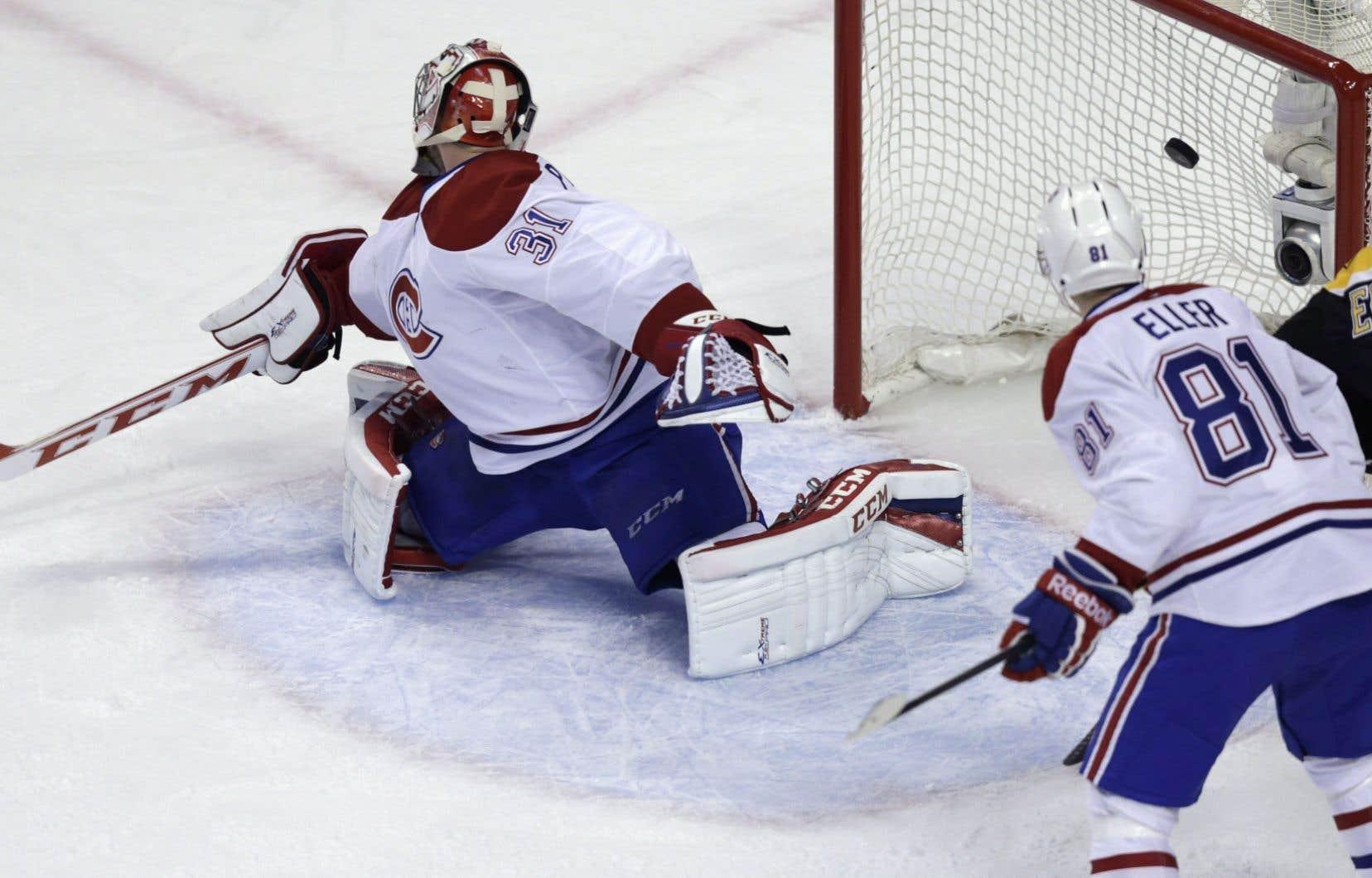 Carey Price déjoué samedi par le premier brut des Bruins, marqué par Daniel Paillé