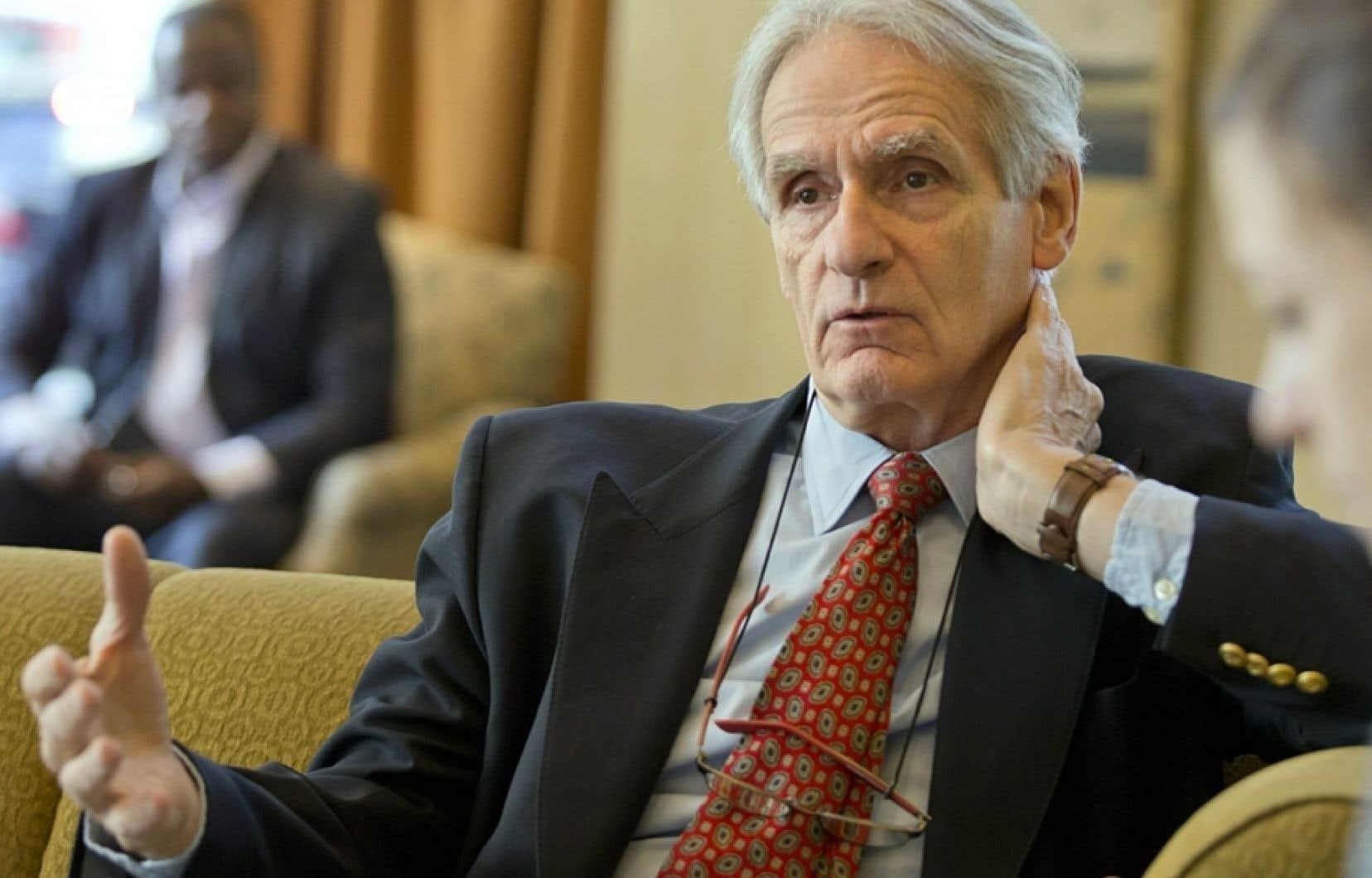L'historien et sociologue Gérard Bouchard