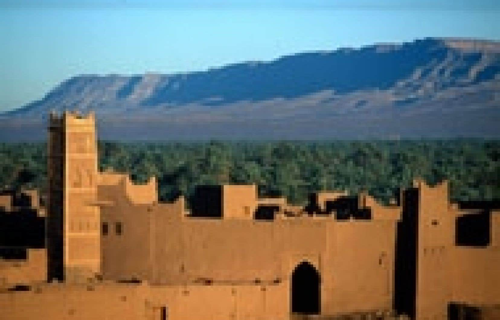 Dans la vallée du Drââ, au Maroc. Photo: Office national marocain du tourisme