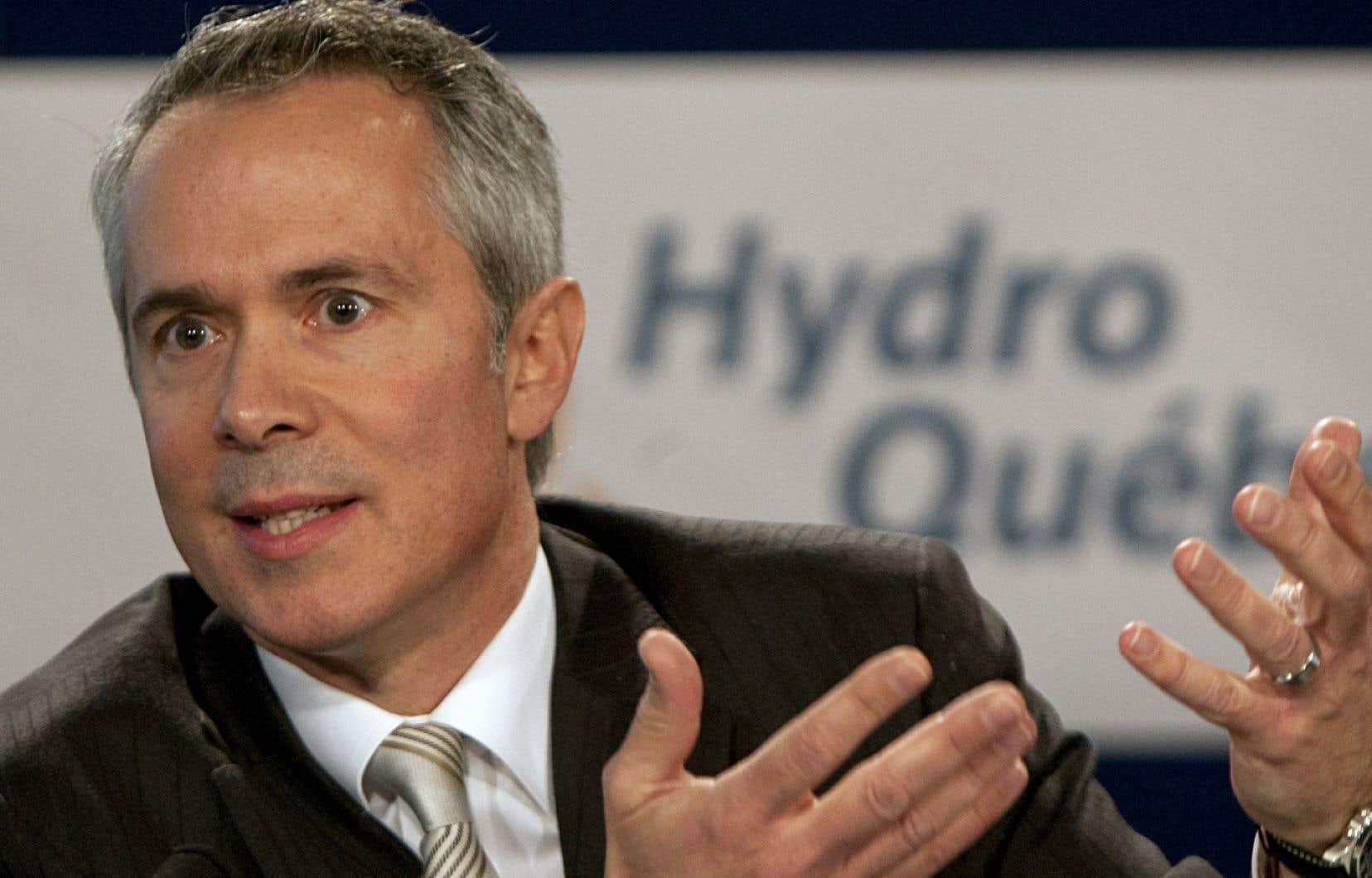 <em>«On répondra de façon très très certaine aux attentes de notre actionnaire dans le contexte où nos marchés ont connu en 2013 une progression»</em>, a affirmé le président-directeur général d'Hydro-Québec, Thierry Vandal, en marge de la publication des états financiers de 2013.
