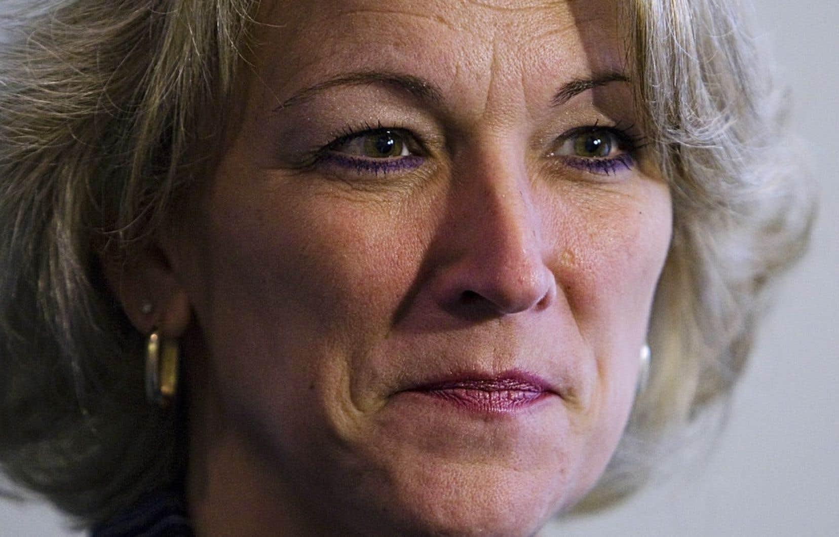 Lise Thériault, ministre de la Sécurité publique