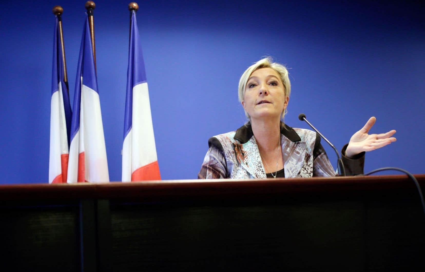 Marine Le Pen, chef du Front national (France)