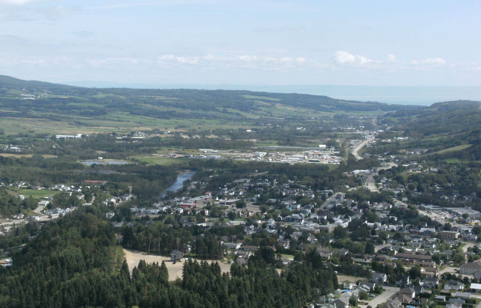 Montagne de la Croix, à Clermont.