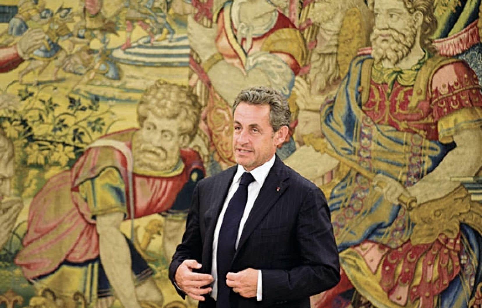 Nicolas Sarkozy s'est rendu en Espagne, mercredi, où il a rencontré le roi Juan Carlos.