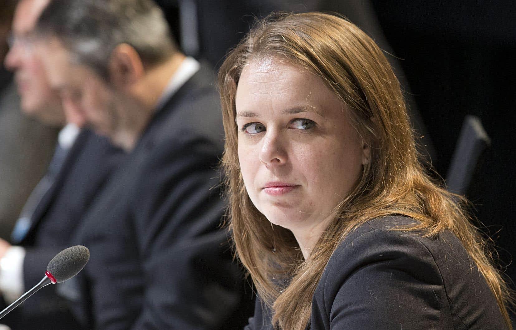 La candidate péquiste défaite Martine Desjardins.