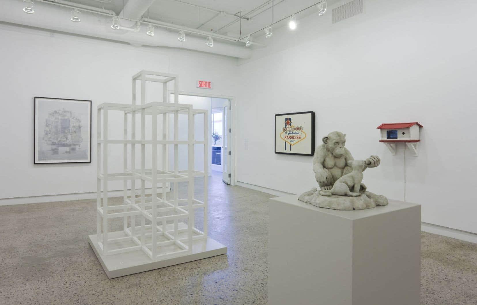 Retour à Paradise Lost est l'une des expositions inaugurales des nouveaux espaces d'Optica.