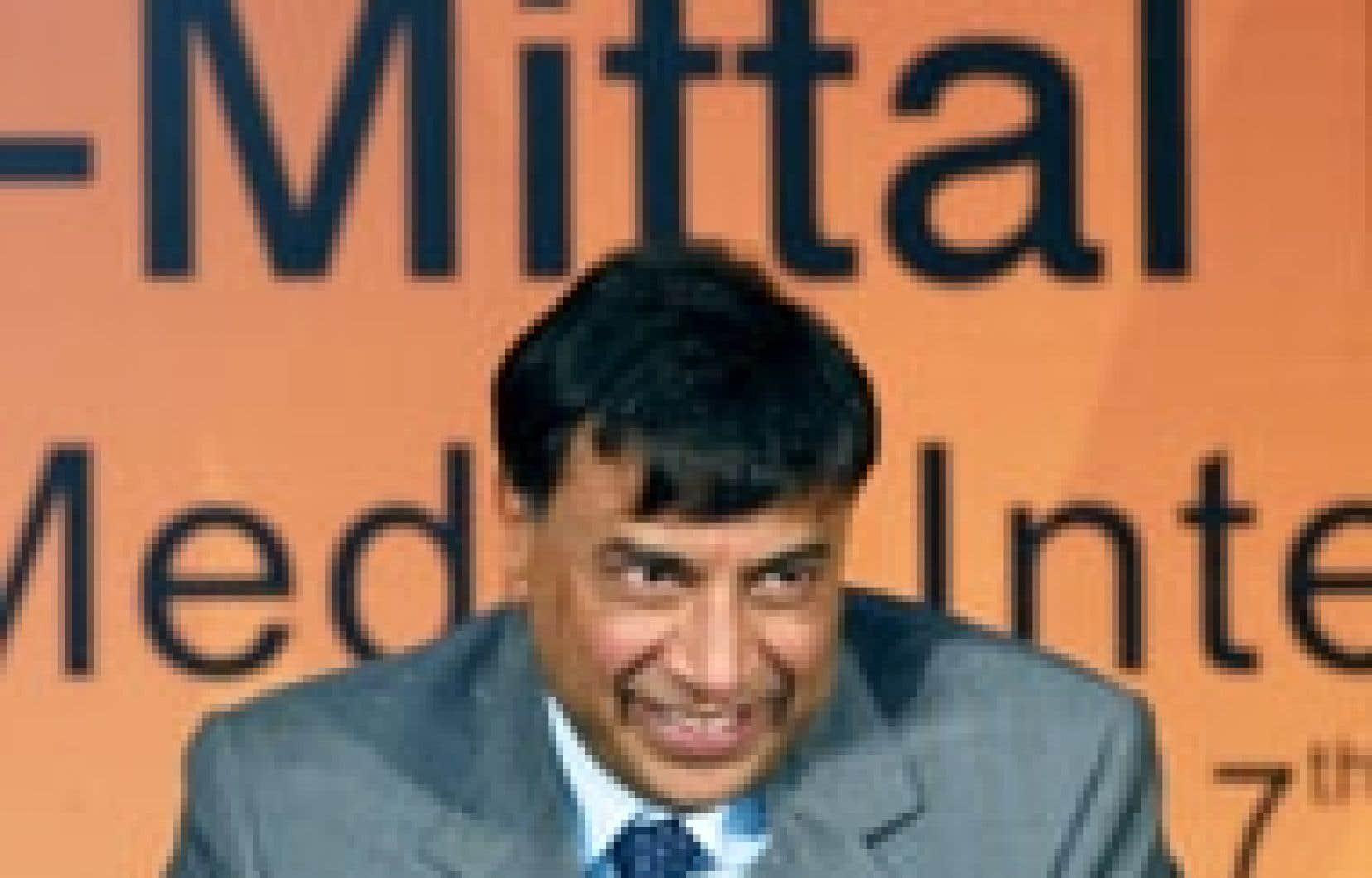 L'homme d'affaires indien Lakshmi Mittal