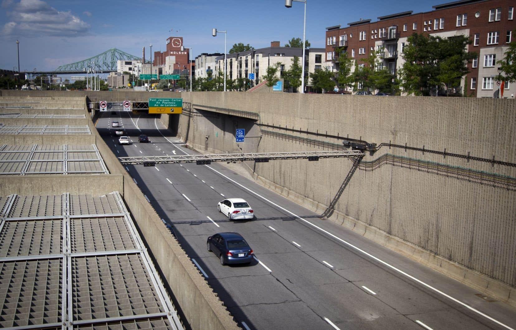 L'autoroute Ville-Marie