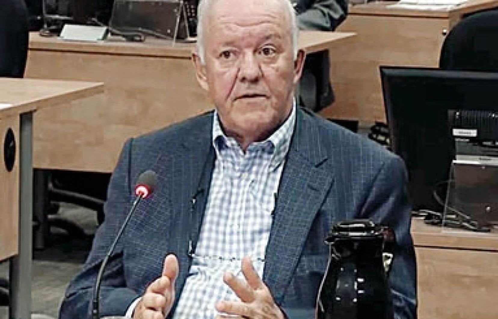 L'ex-vice-président de Roche Marc-Yvan Côte