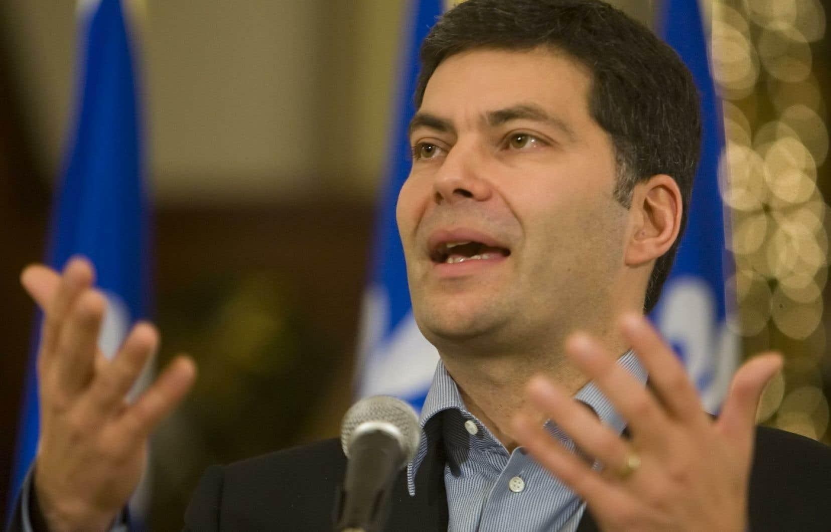 Le chef de la défunte Action démocratique du Québec, Mario Dumont