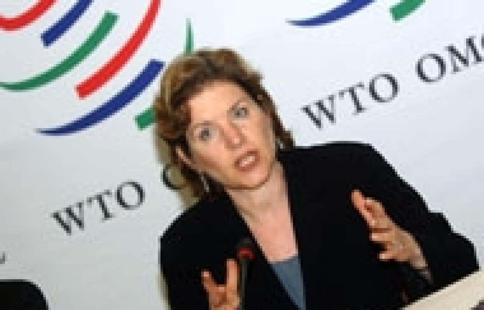 Susan Schwab, représentante spéciale américaine pour le commerce.