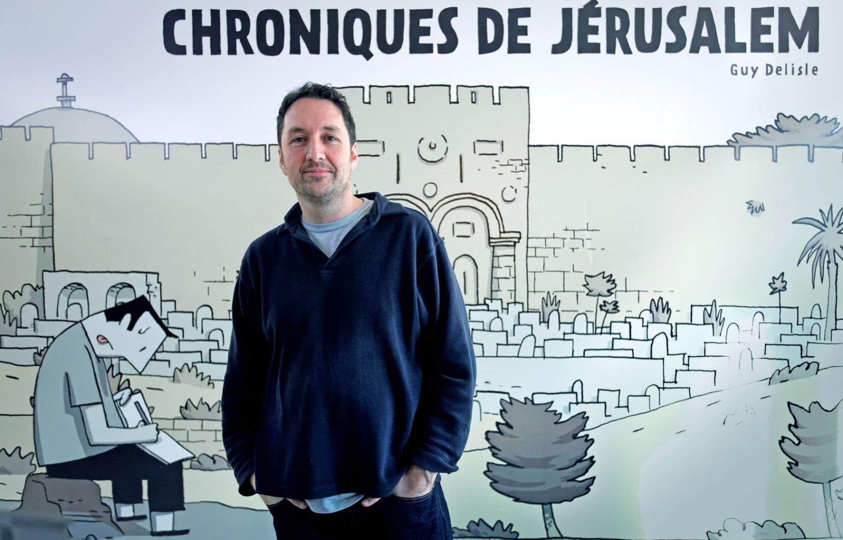 Au Québec, Guy Delisle a, avec ses Chroniques de Jérusalem, exploité le dessin documentaire.
