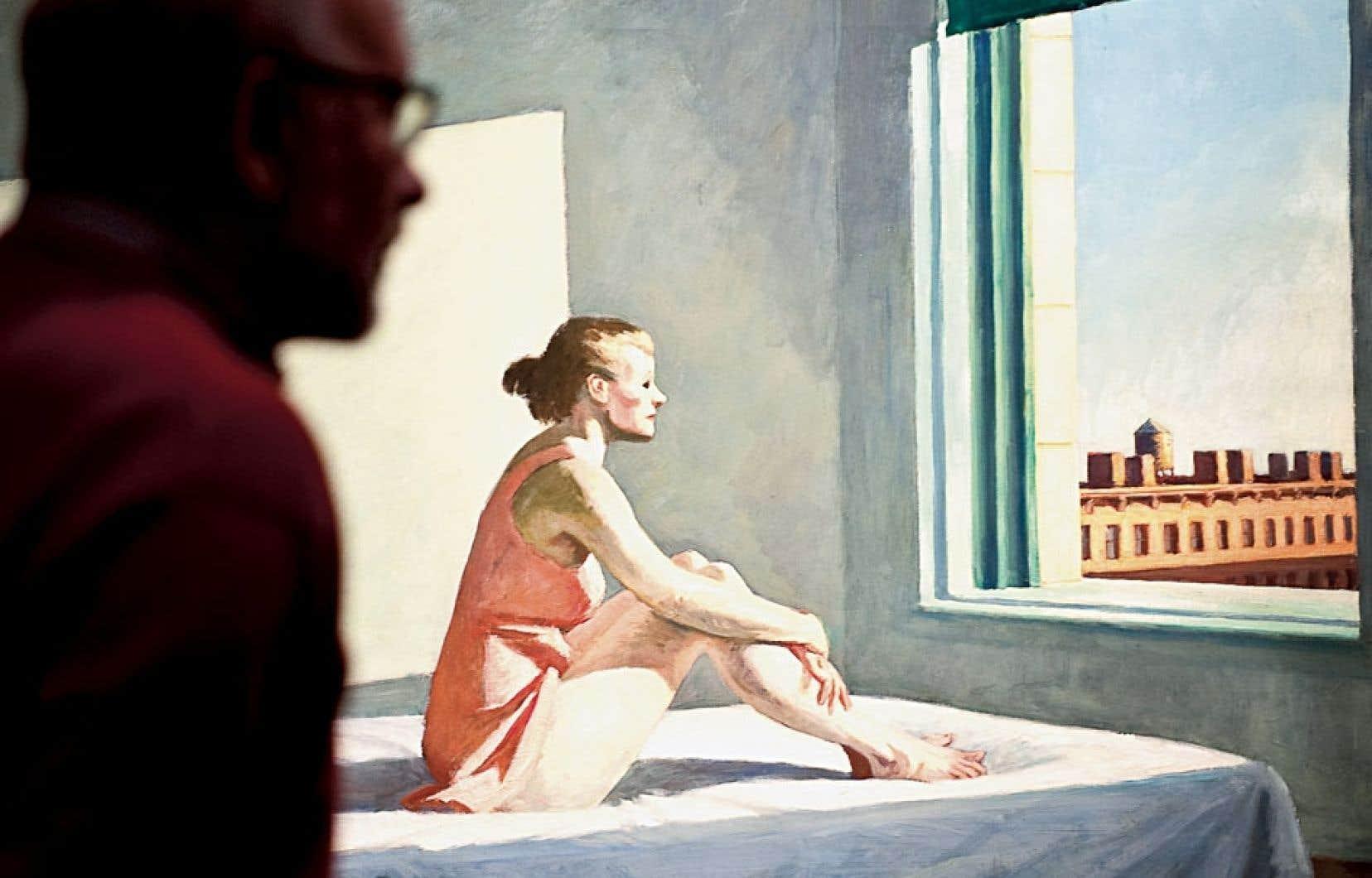 L'original de Hopper : Morning Sun, 1952.