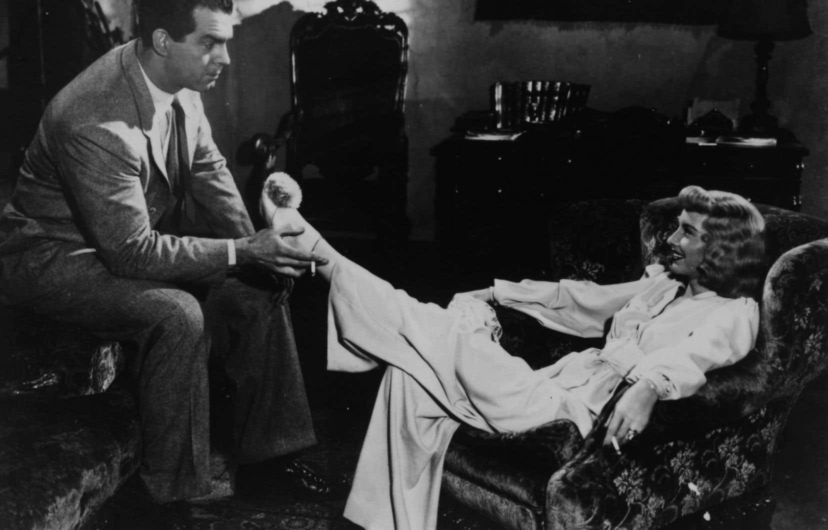 Barbara Stanwick dans Assurance sur la mort, ou le prototype de la femme fatale qui perdure dans le thriller érotique moderne (Photo promotionnelle)