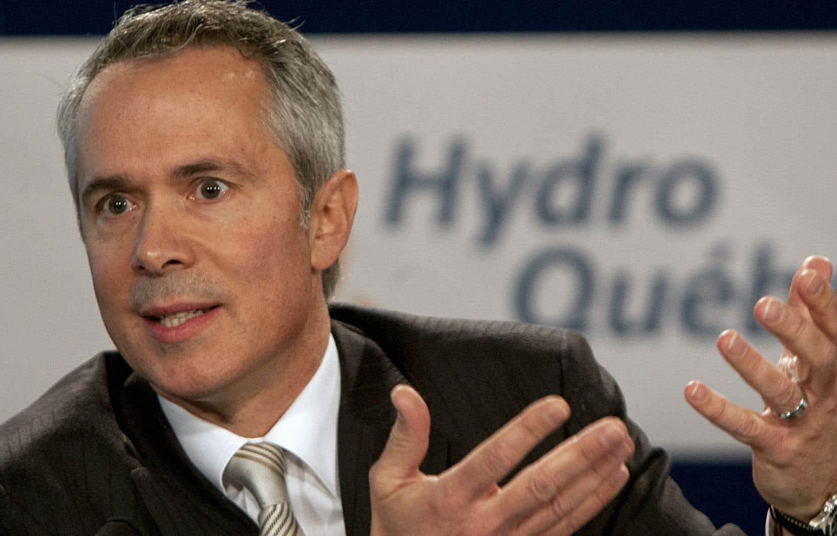 Le p.-d.g. d'Hydro-Québec Thierry Vandal