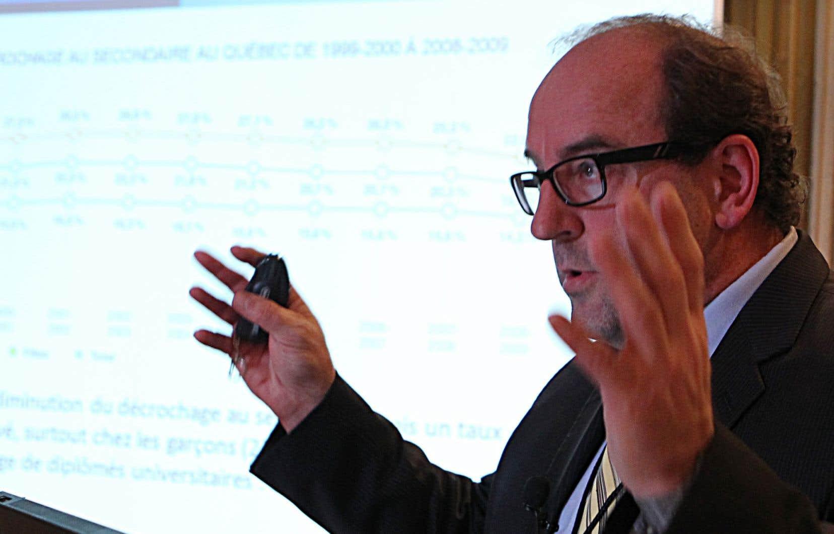 Le Dr Alain Poirier, le directeur démissionnaire de la Santé publique en Montérégie, a déjà été directeur national de la Santé publique.