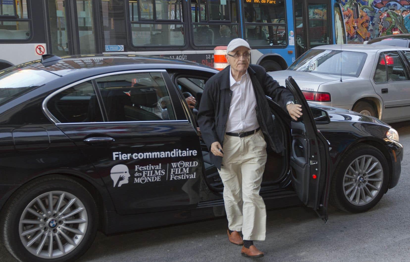 Serge Losique exhorte Québec à arbitrer le conflit qui oppose le Festival des films du monde à la SODEC.