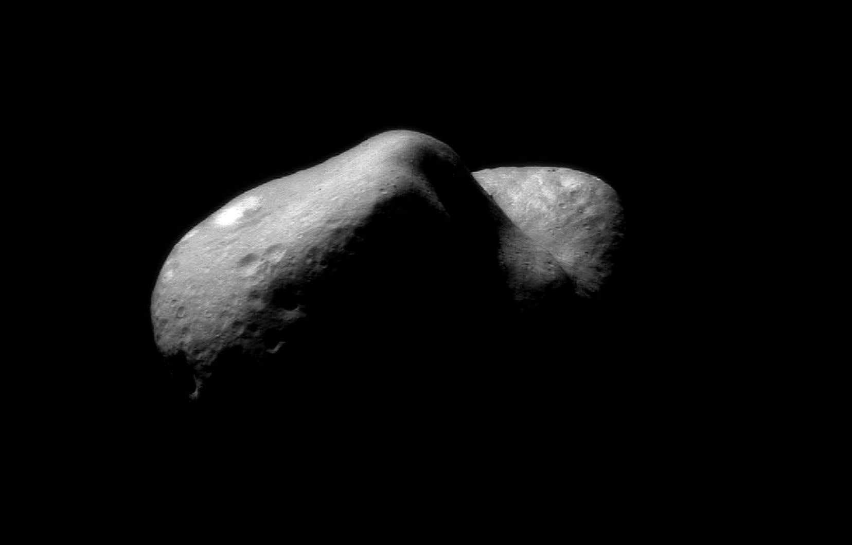 Un astéroide récemment photographié par la NASA.