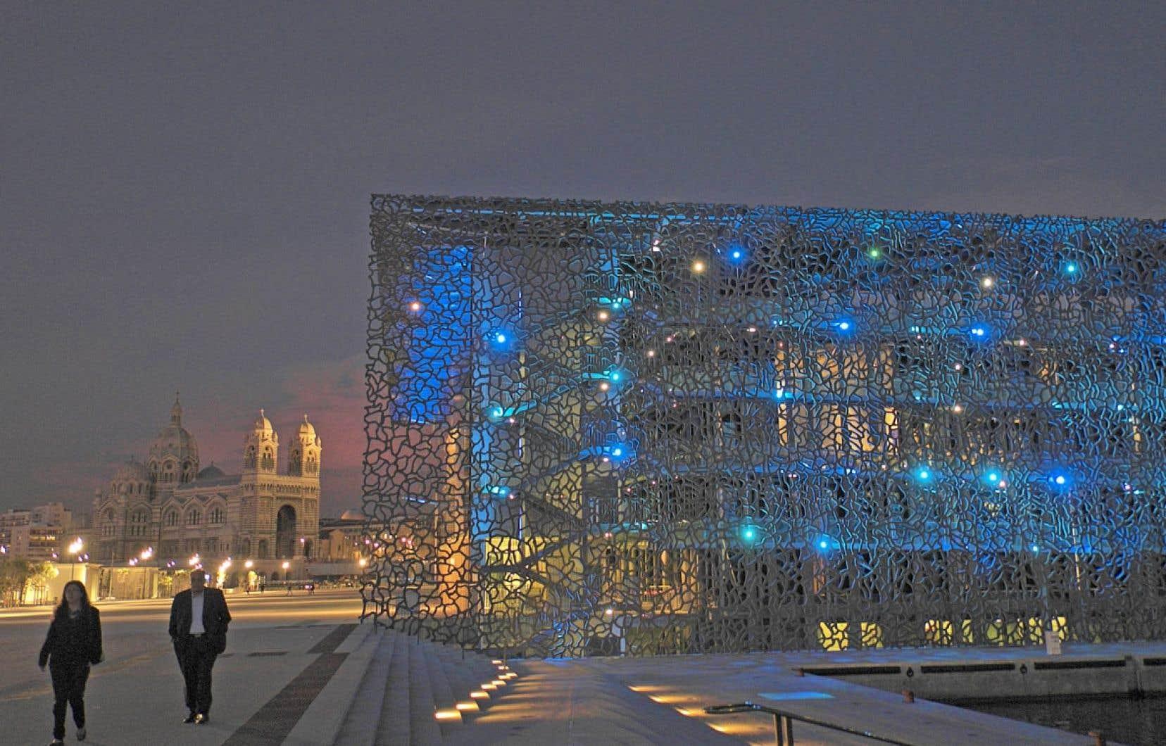 Le MuCEM, à Marseille, est le premier musée au monde consacré aux cultures méditerranéennes.