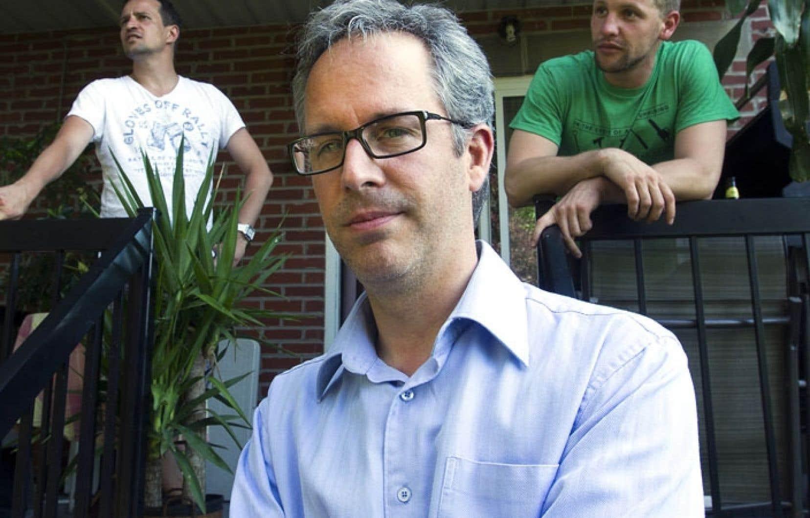 Frédéric Lapointe, président de la Ligue d'action civique