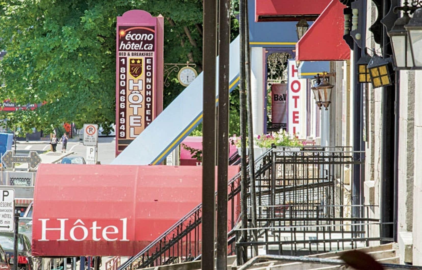 L'industrie touristique souffre de l'hébergement illégal dans la plupart des régions du Québec.