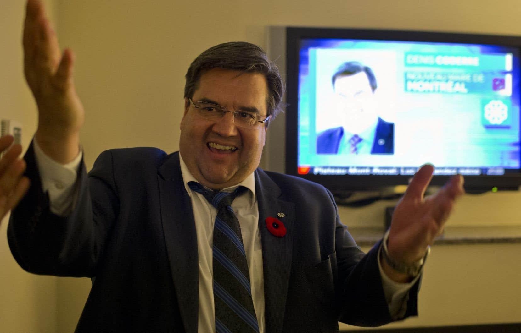 Le maire de Montréal, Denis Coderre, aura sous peu deux émissions télévisées.