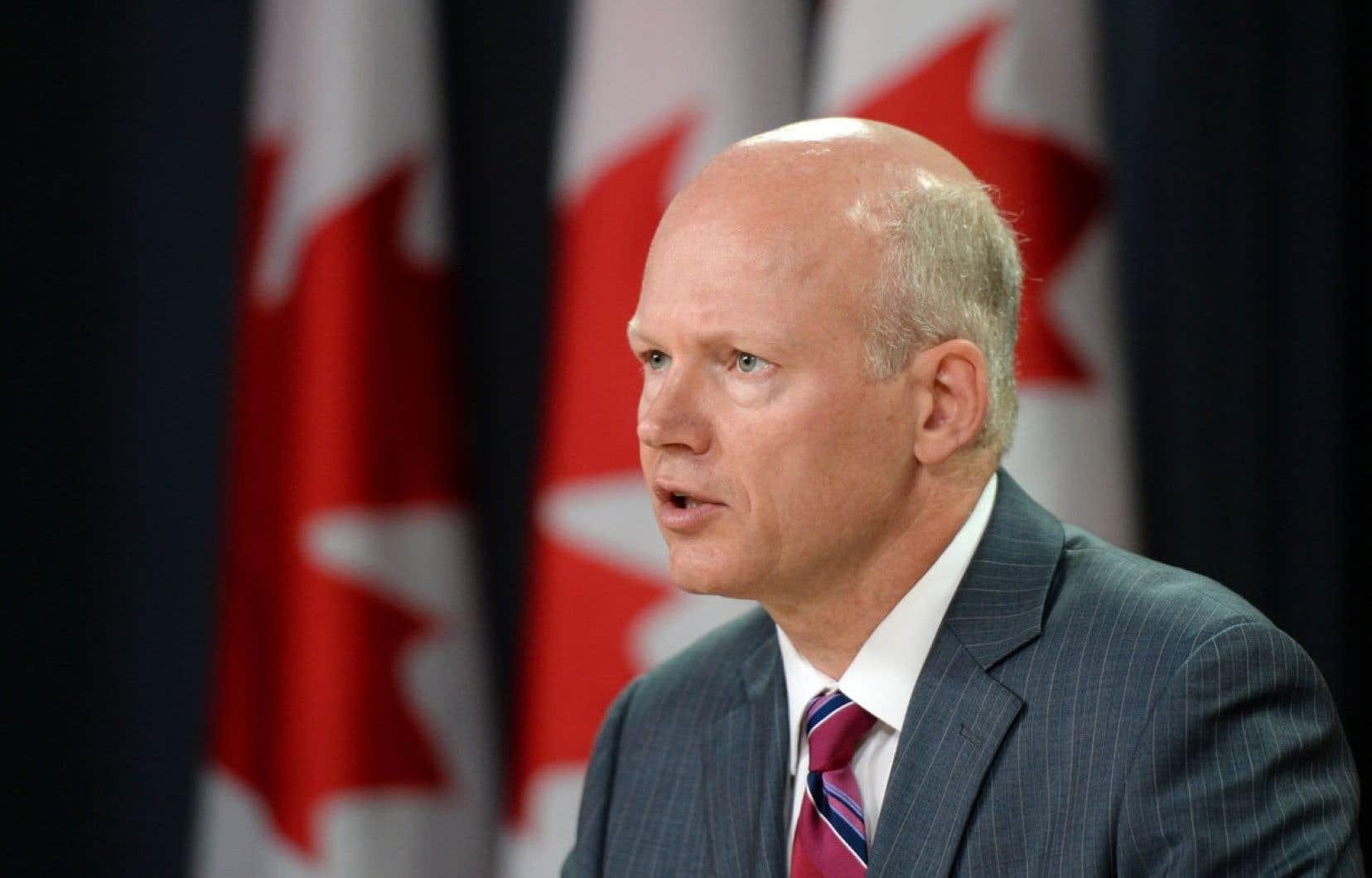 Les poursuites criminelles contre le sénateur suspendu Mike Duffy peuvent durer des années, a averti le député libéral Geoff Regan (notre photo) en point de presse mercredi à Ottawa.