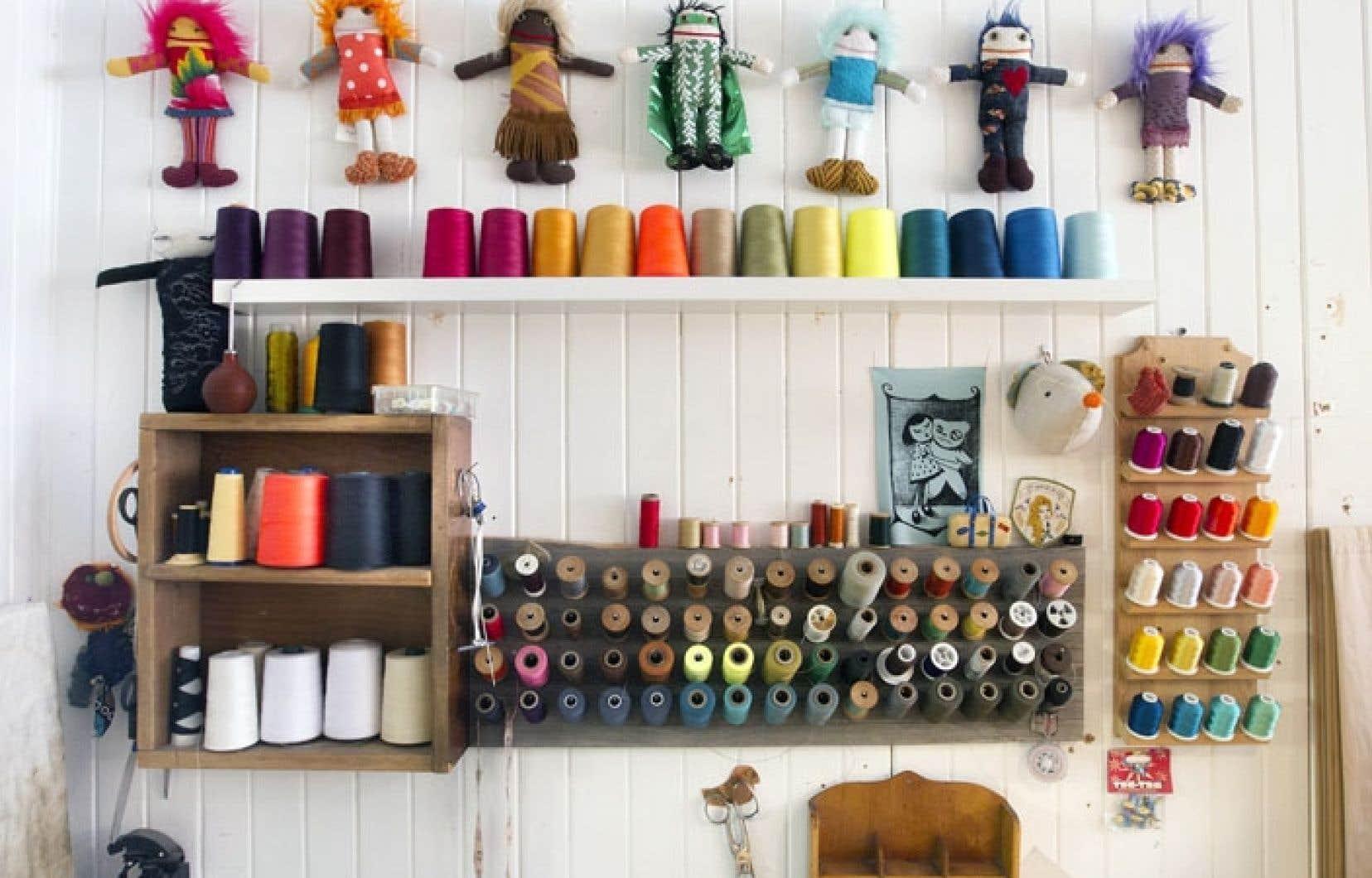 En matière de peluches, comment savoir ce qui plaira aux bouts-de-choux? Même chez Raplapla, atelier-boutique du Plateau Mont-Royal ayant perfectionné l'art de la poupée de chiffon artisanale, ce qui déclenche l'affection des enfants est toujours un mystère.