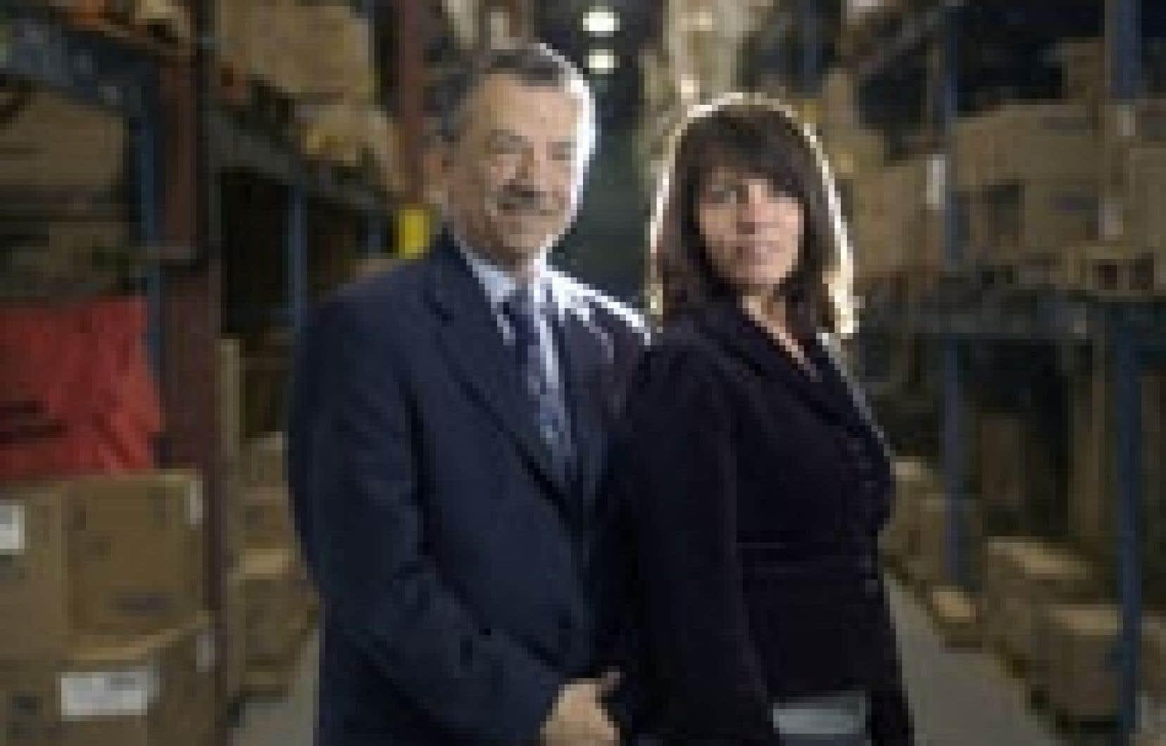 Denis et Brigitte Jalbert.